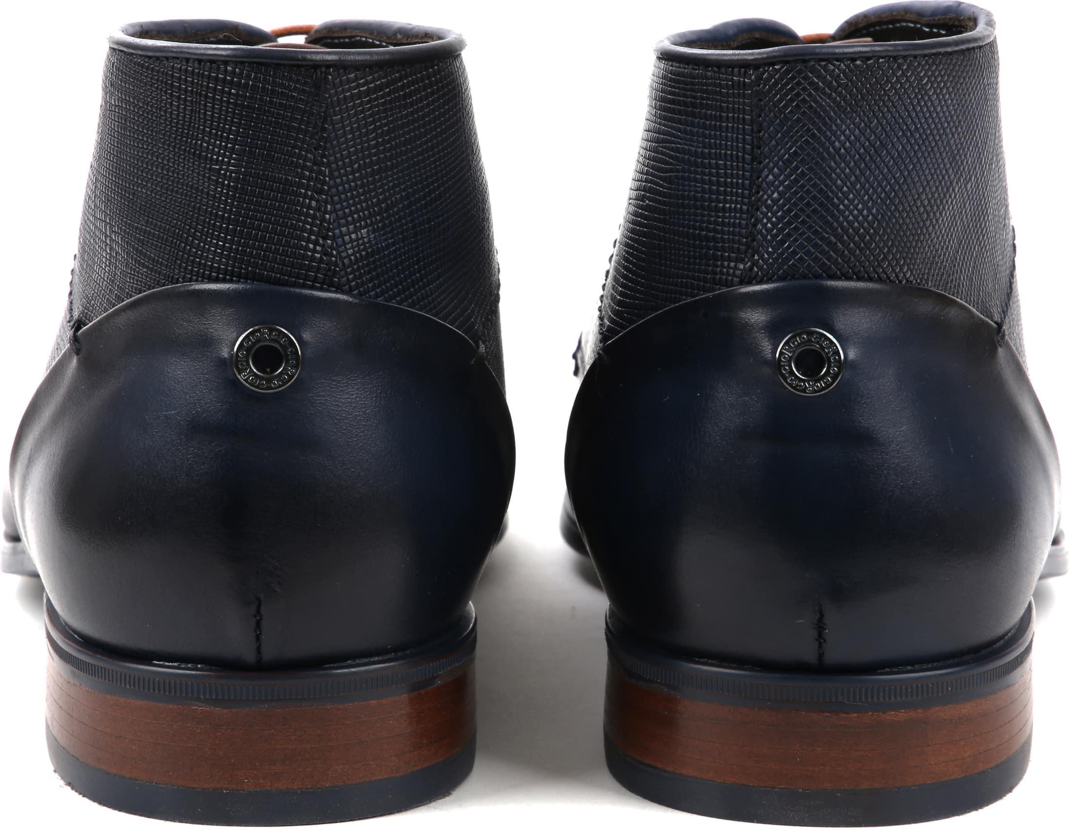 Giorgio Shoe Leather Montana Blue foto 2