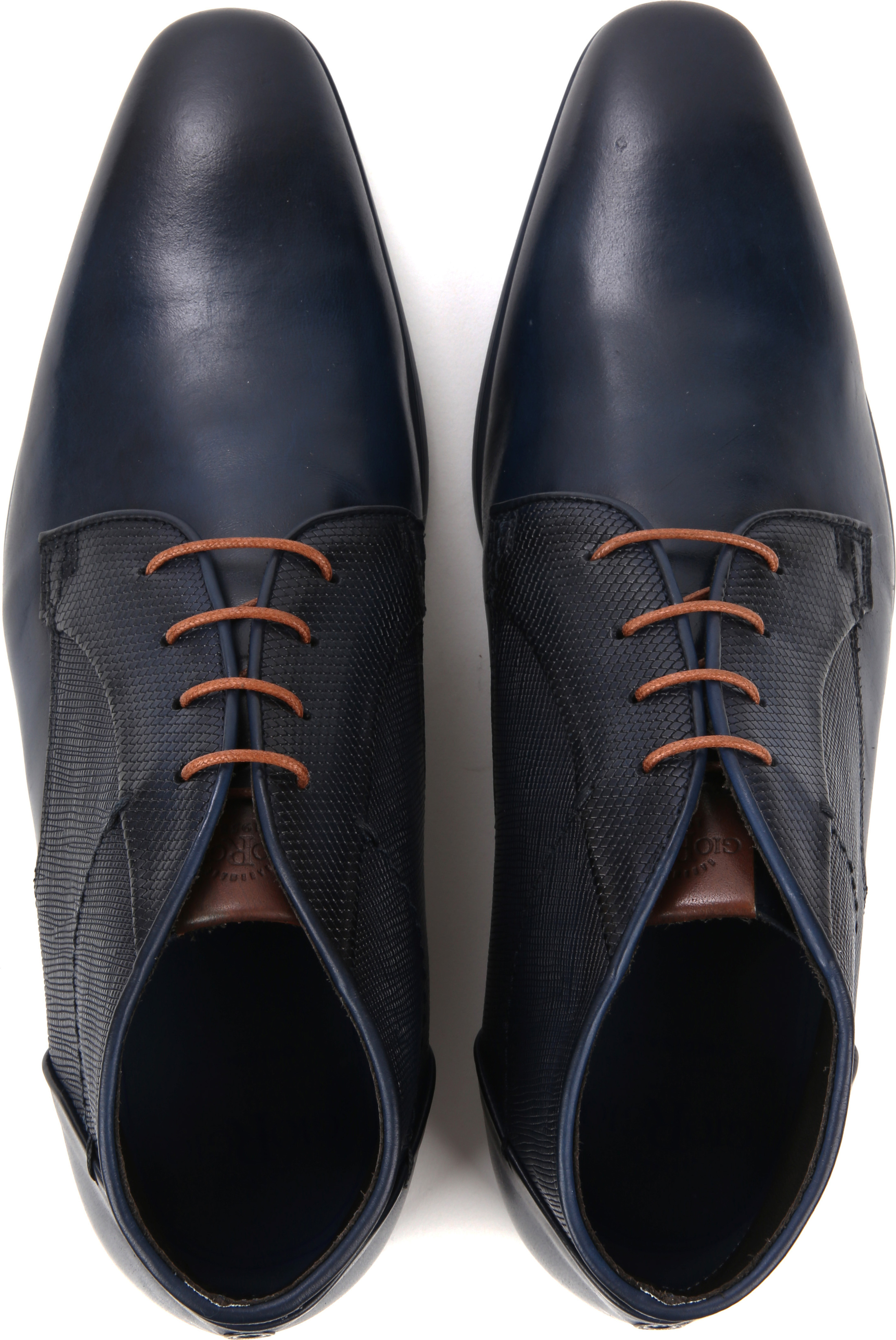 Giorgio Shoe Leather Montana Blue foto 4