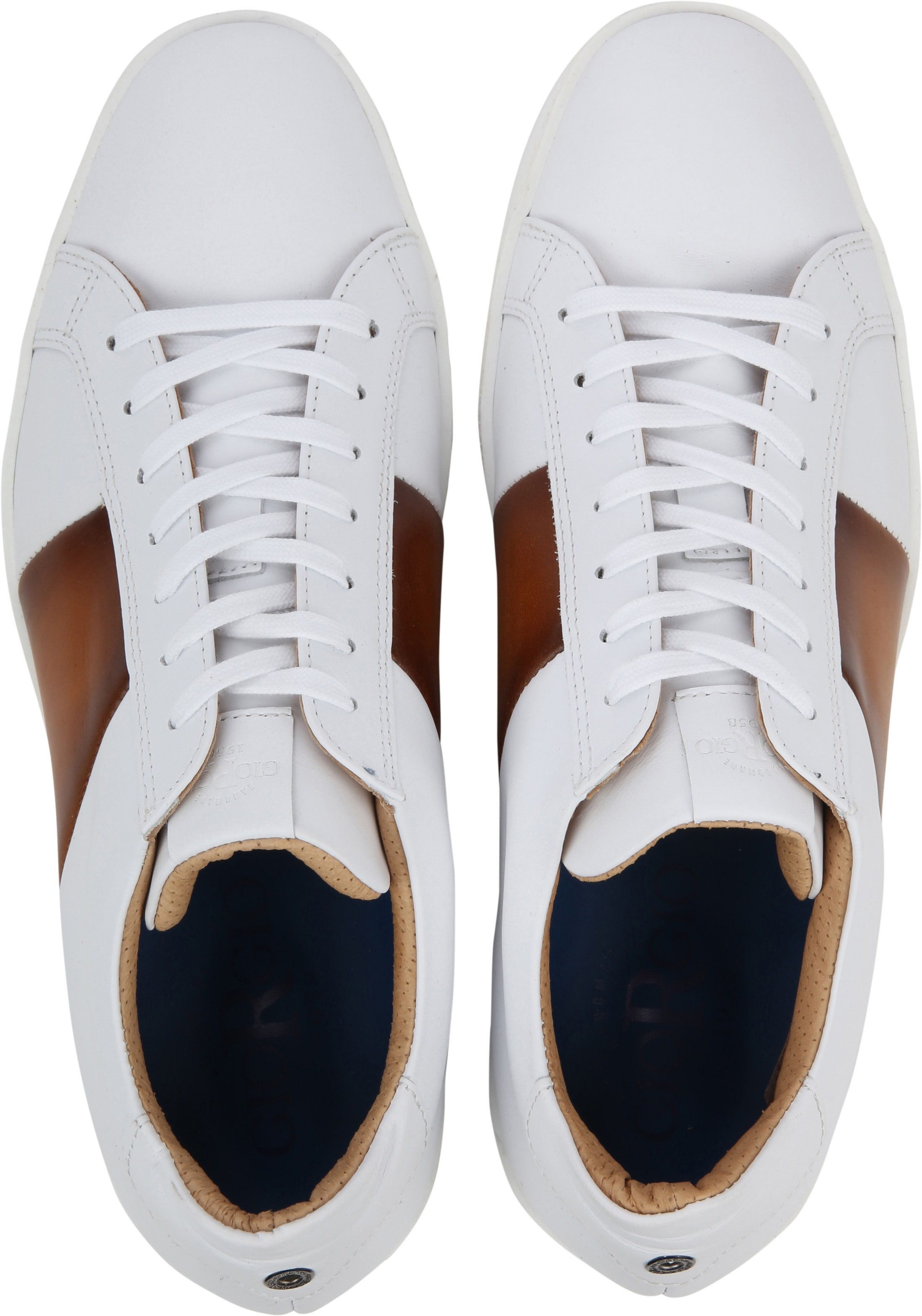 Giorgio Sneaker Manlis Wit foto 2