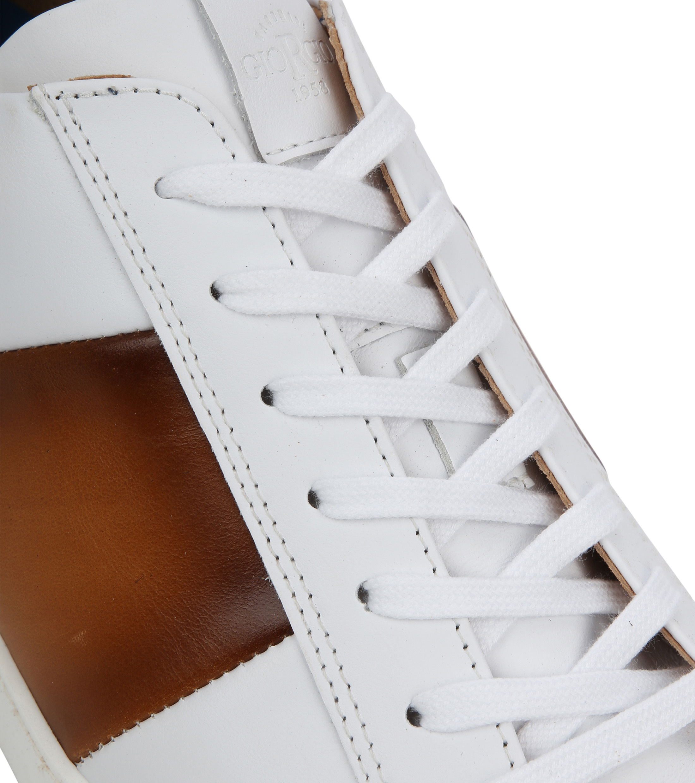Giorgio Sneaker Manlis Wit foto 1