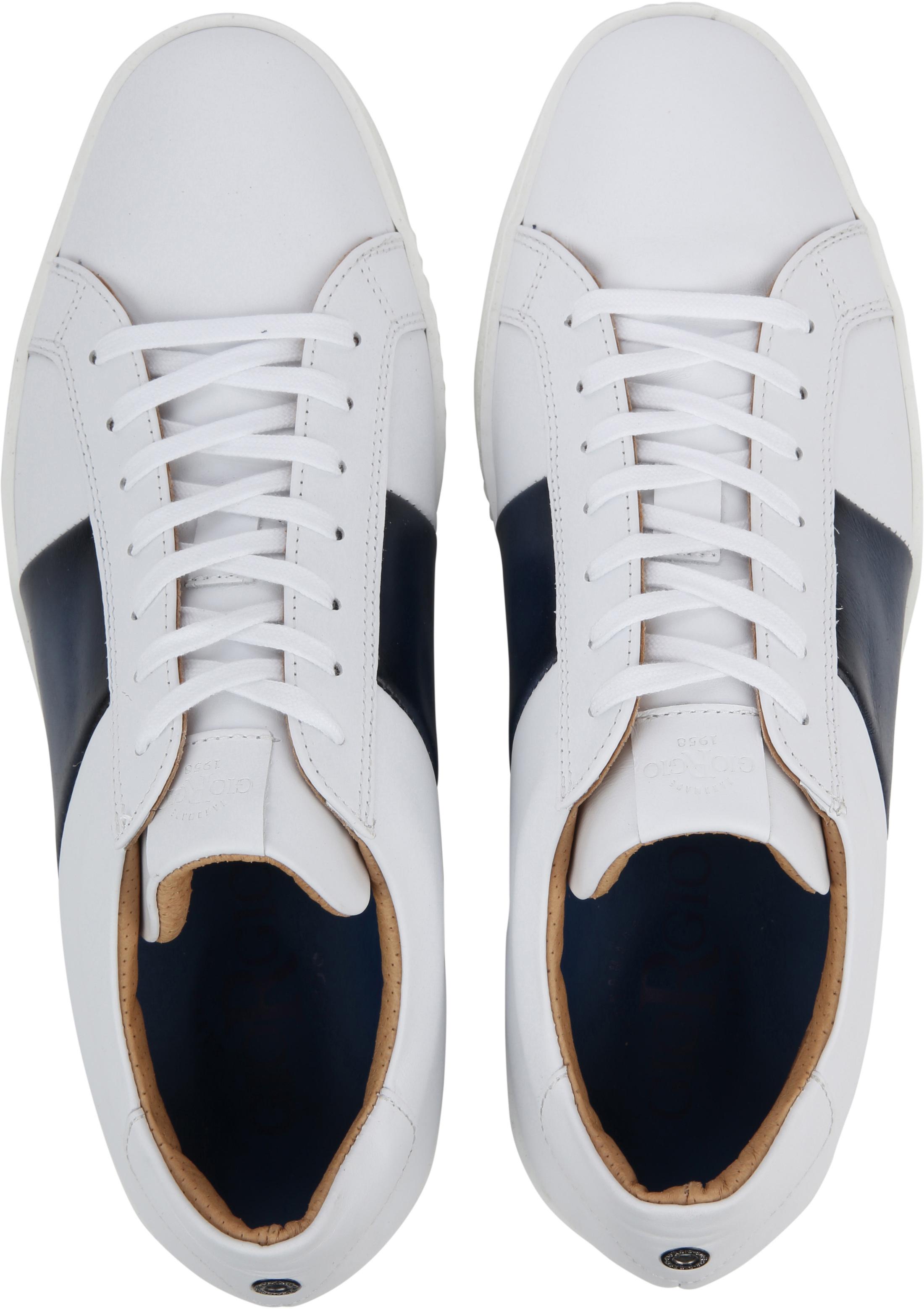 Giorgio Sneaker Wit Manlis foto 2