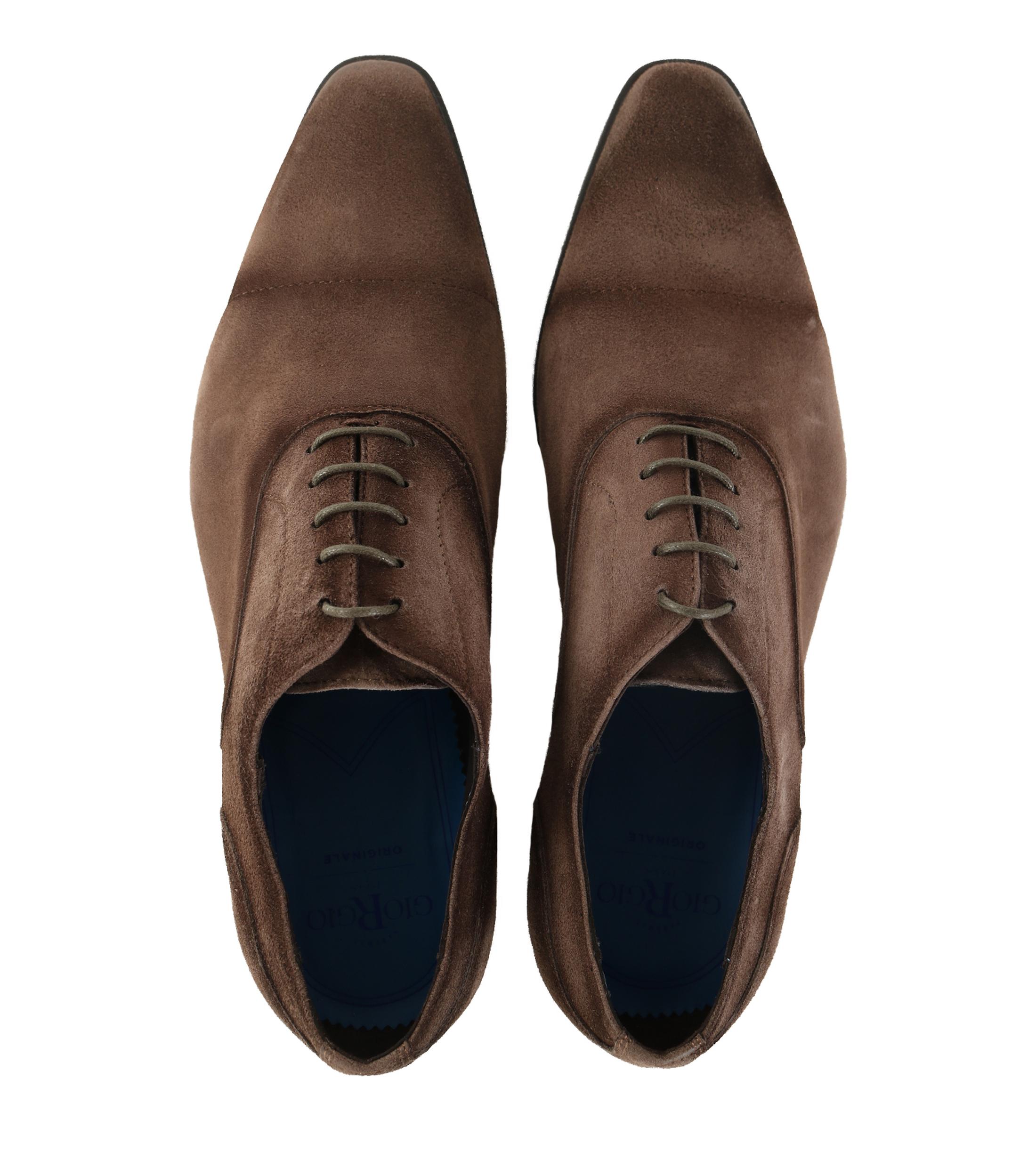 Giorgio Suede Shoes Brown foto 3