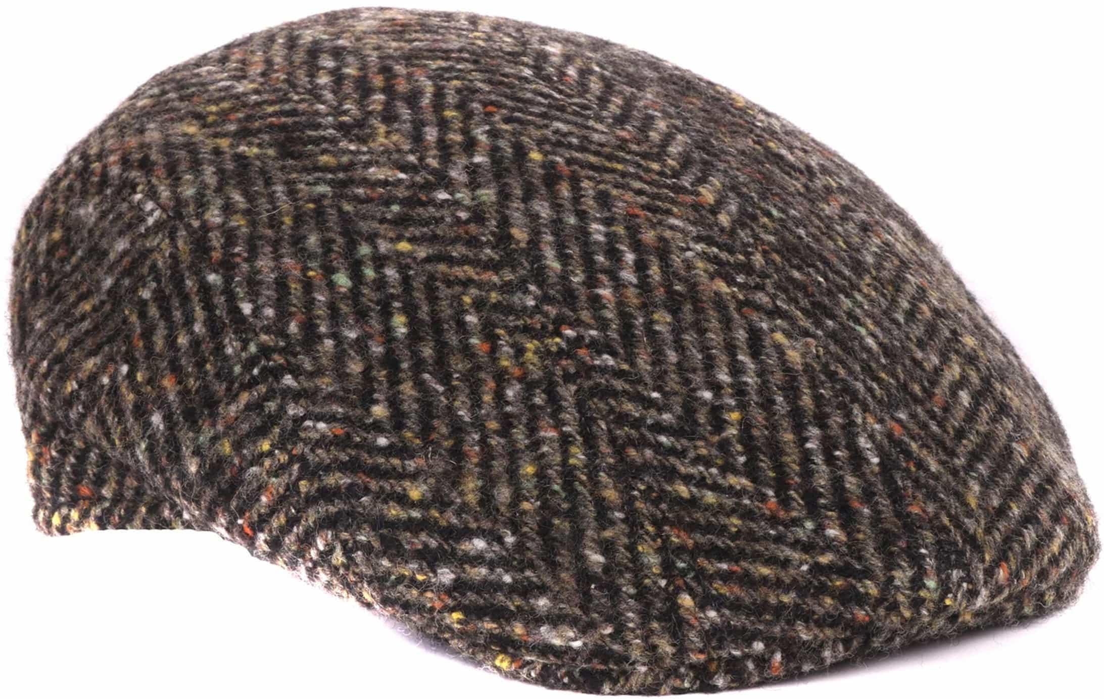 Green Flat Hat Wool foto 0