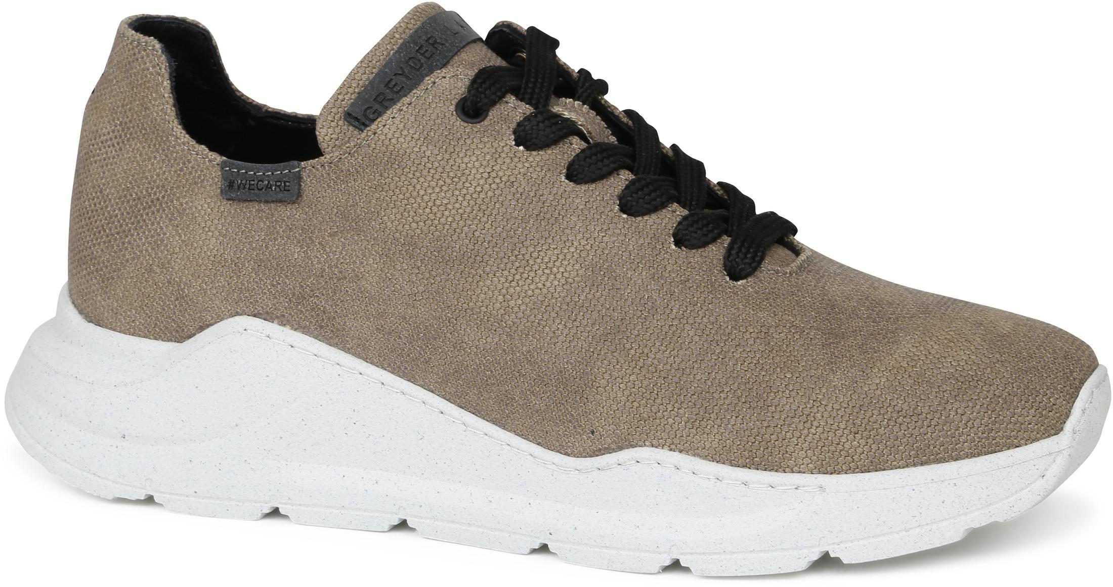 Greyder Lab Sneaker GL-212-22 Army Groen
