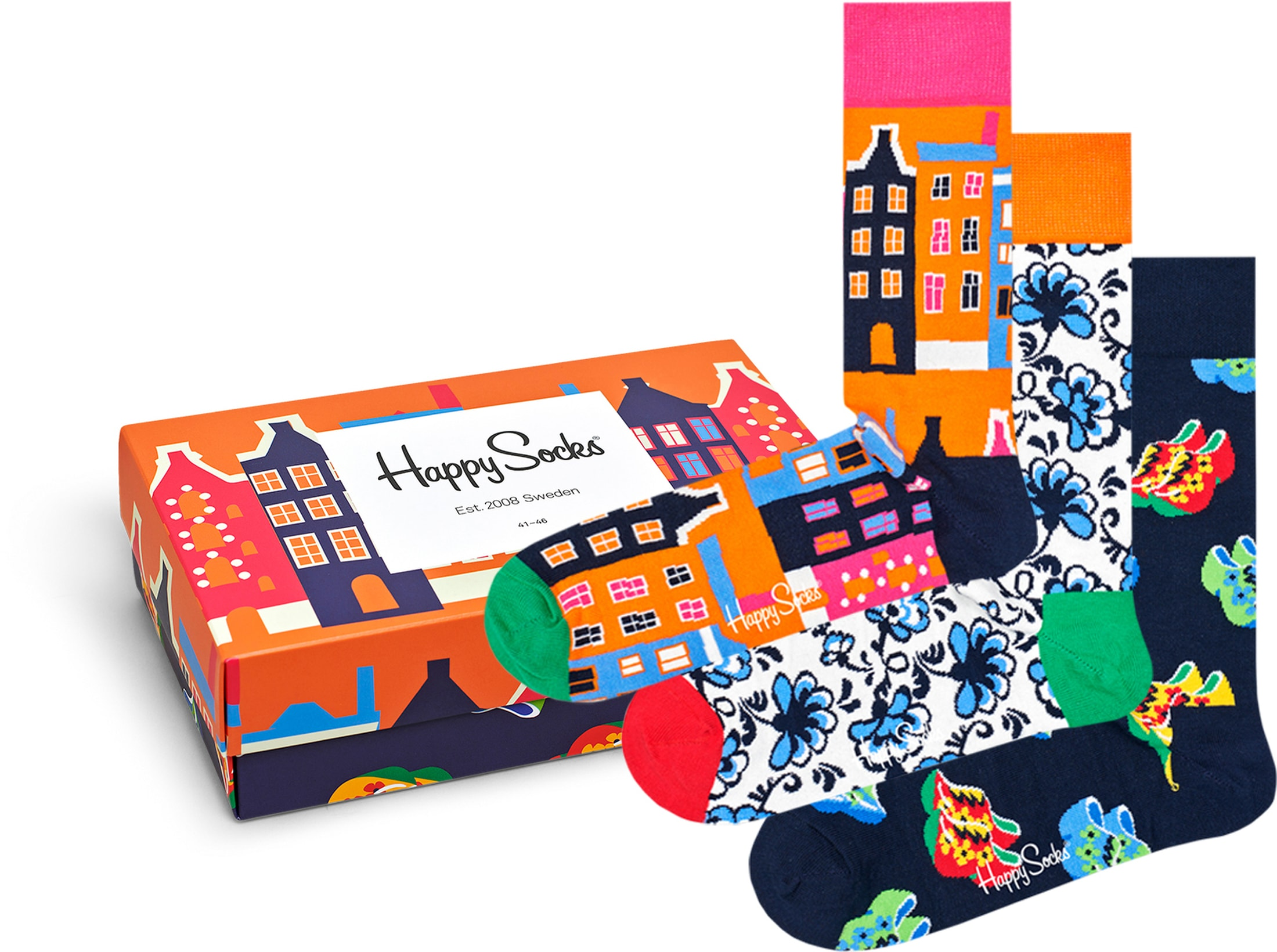 Happy Socks Dutch Edition Gift Box foto 0