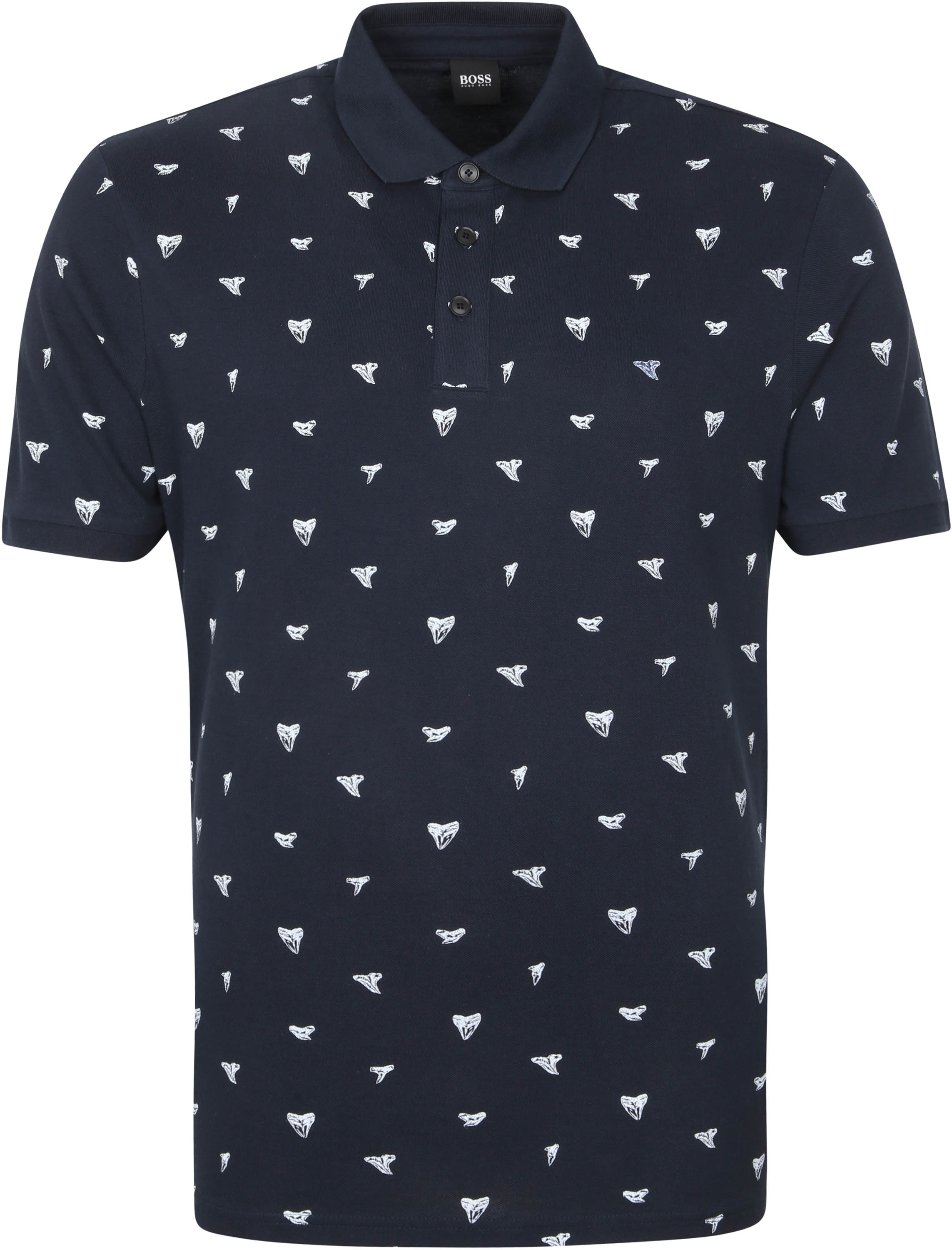 Hugo Boss Polo Peprint Donkerblauw