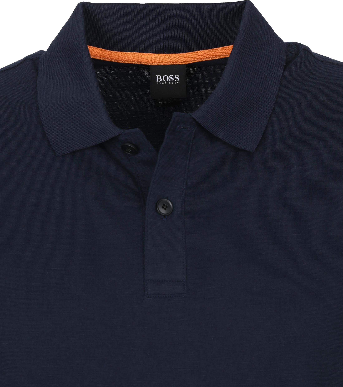 Hugo Boss Polo Pikedo Donkerblauw