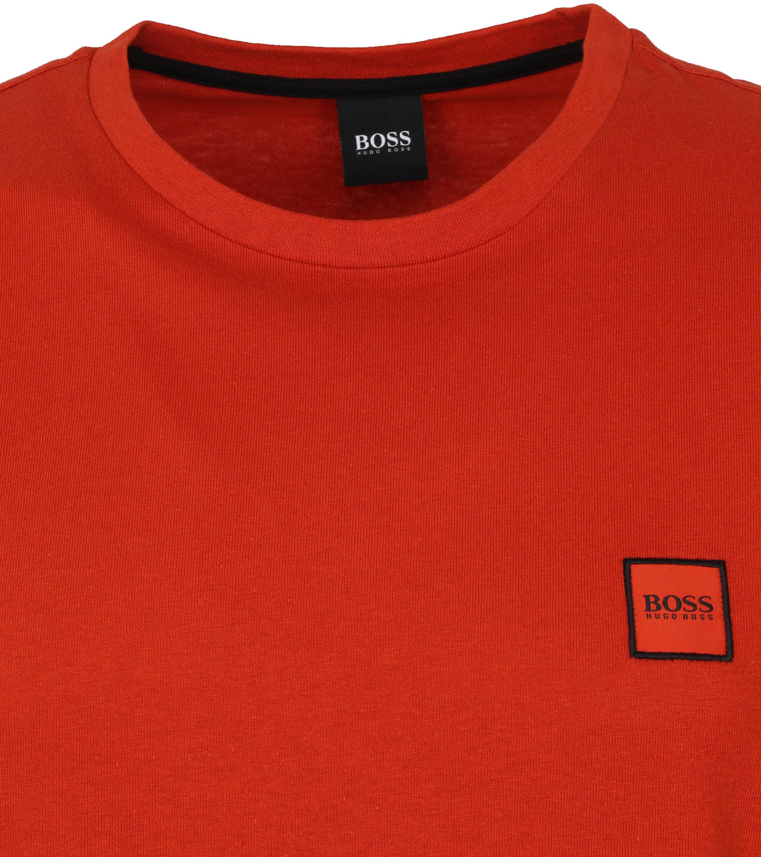 Hugo Boss T-shirt Tales Rood