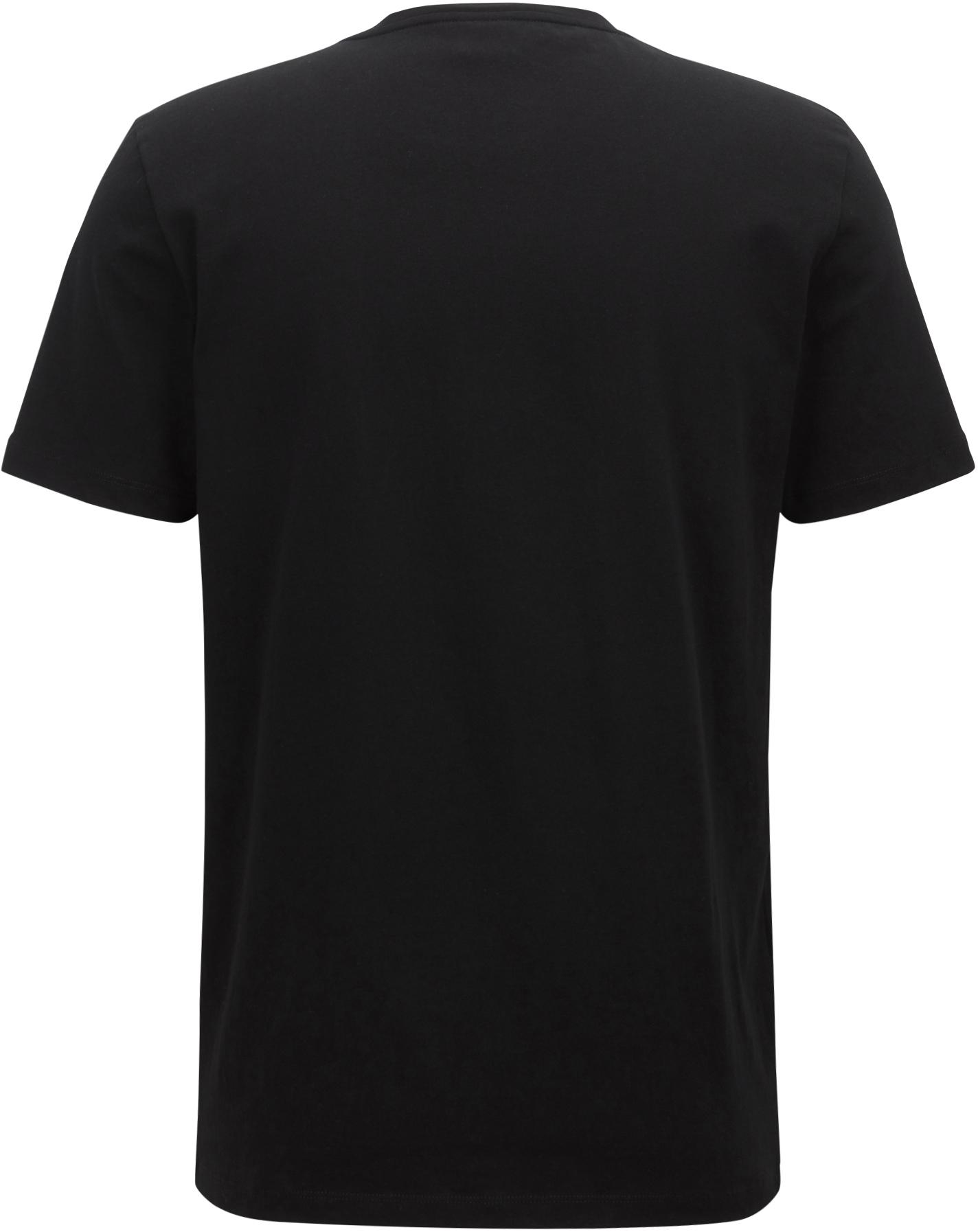Hugo Boss T-shirt Tales Zwart
