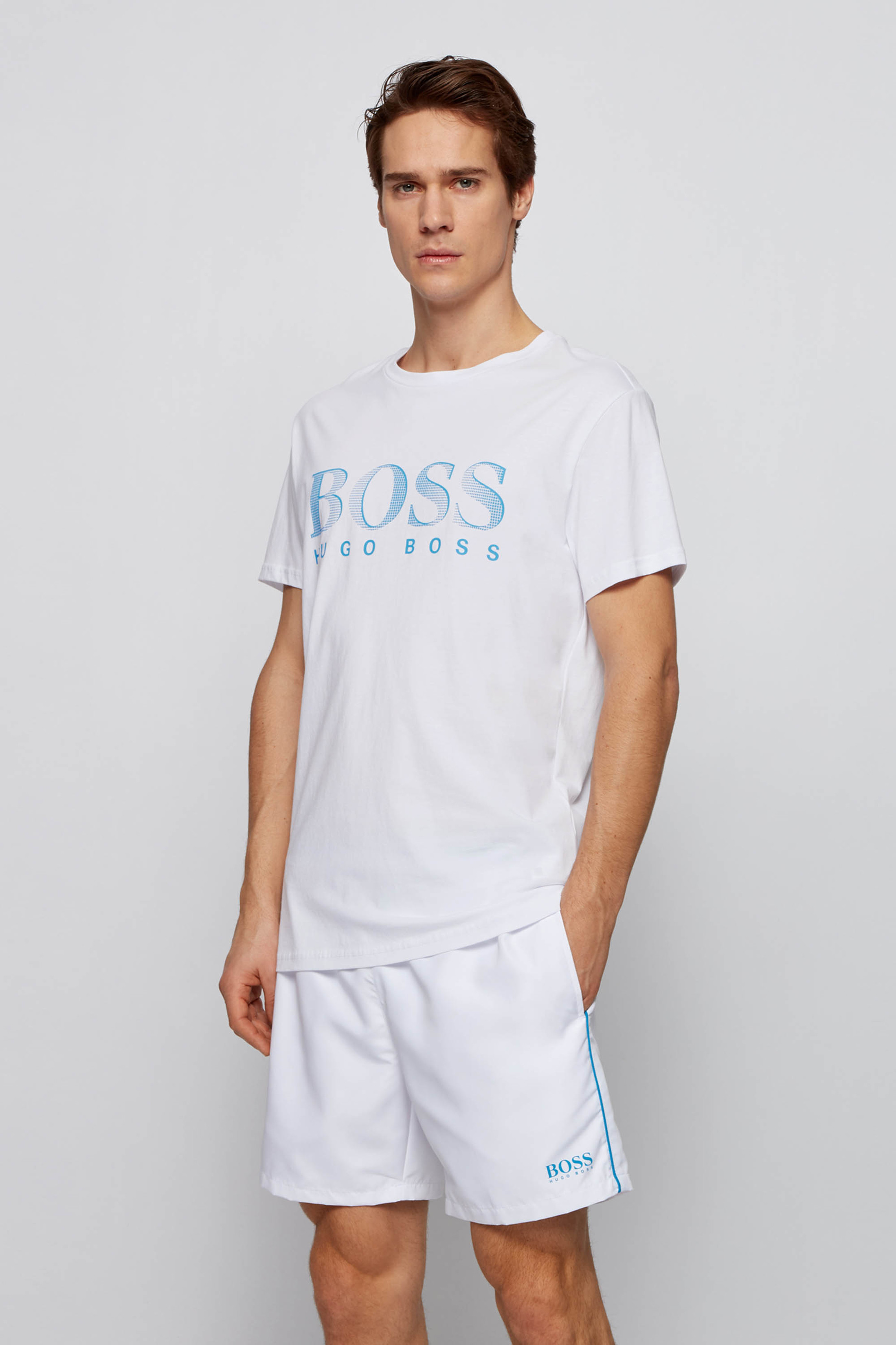 Hugo Boss T-shirt UV-Protection Wit