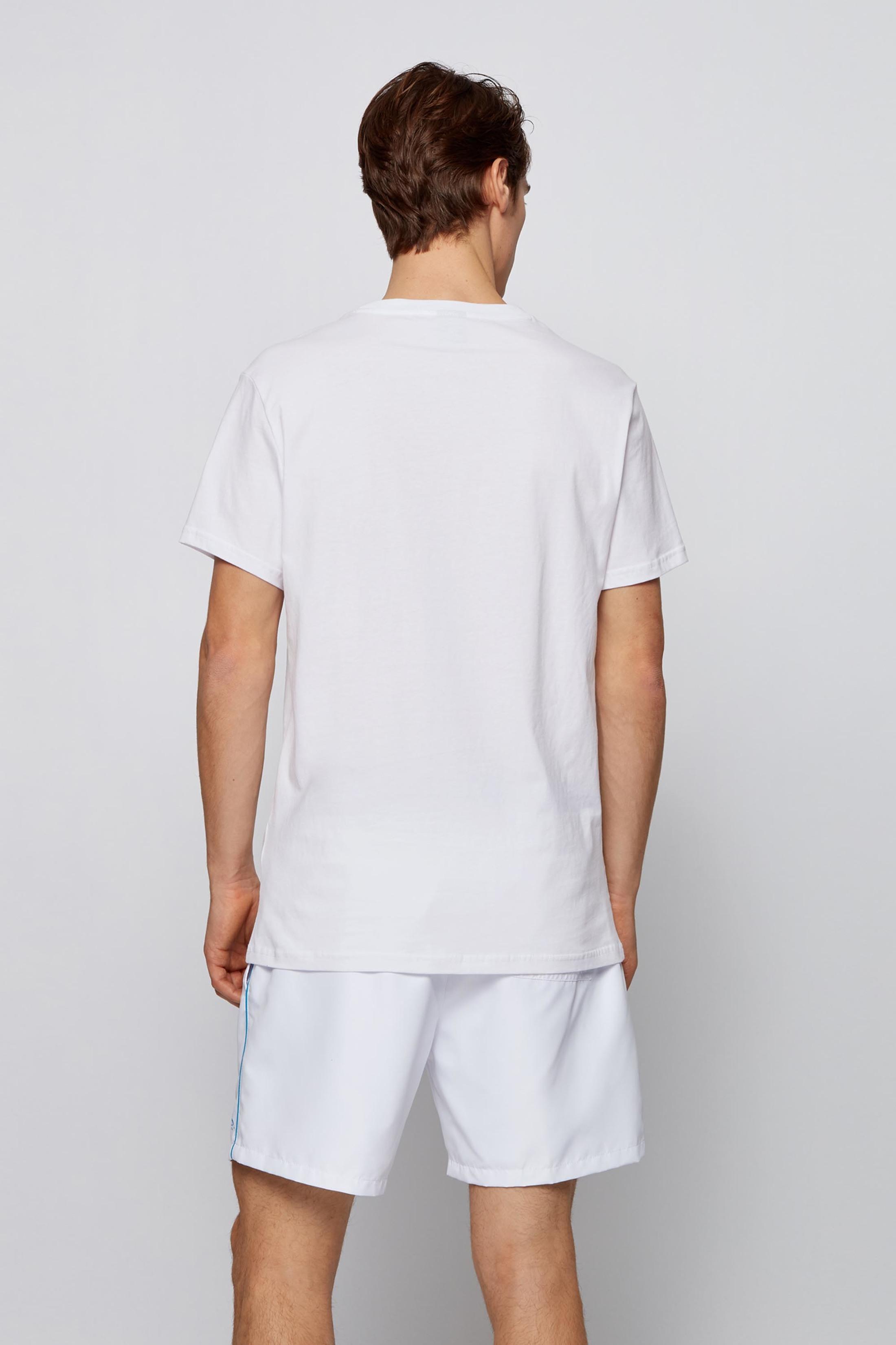 Hugo Boss T-shirt UV-Protection Wit