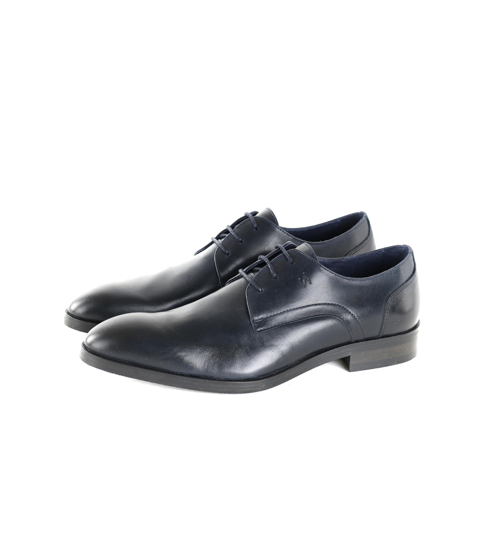 Foncé Chaussures En Dentelle vJBMPXoMv5