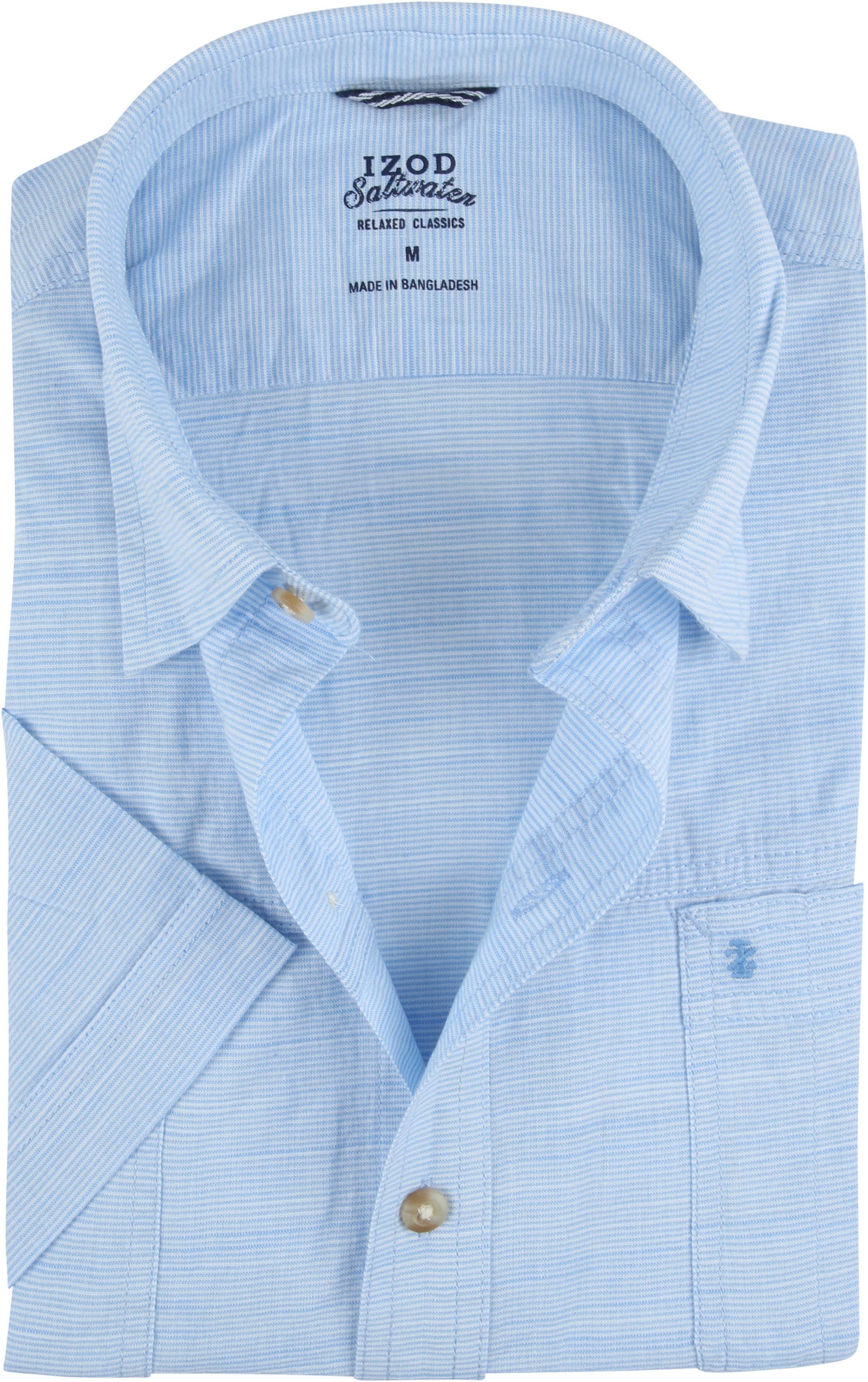 IZOD Hemd Streifen Blau