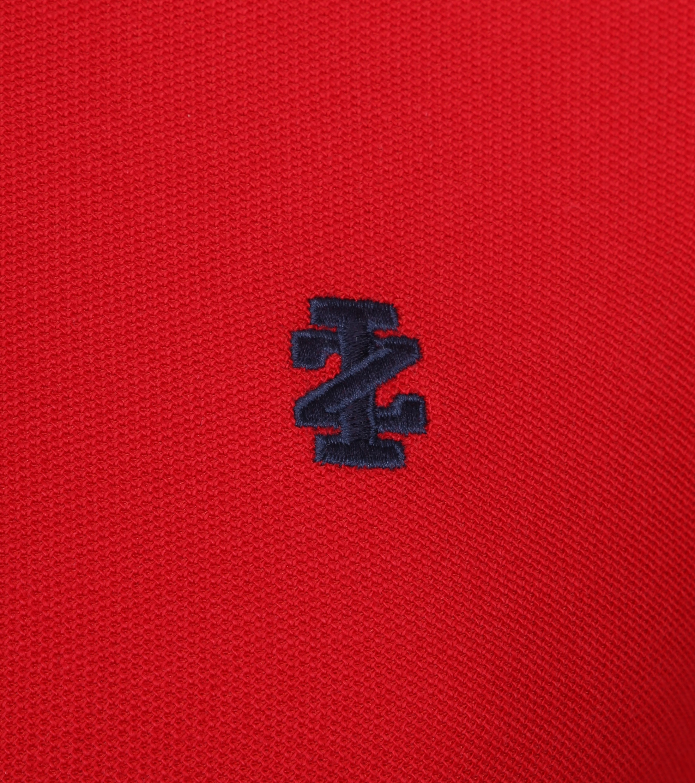 IZOD Performance Poloshirt Red foto 2