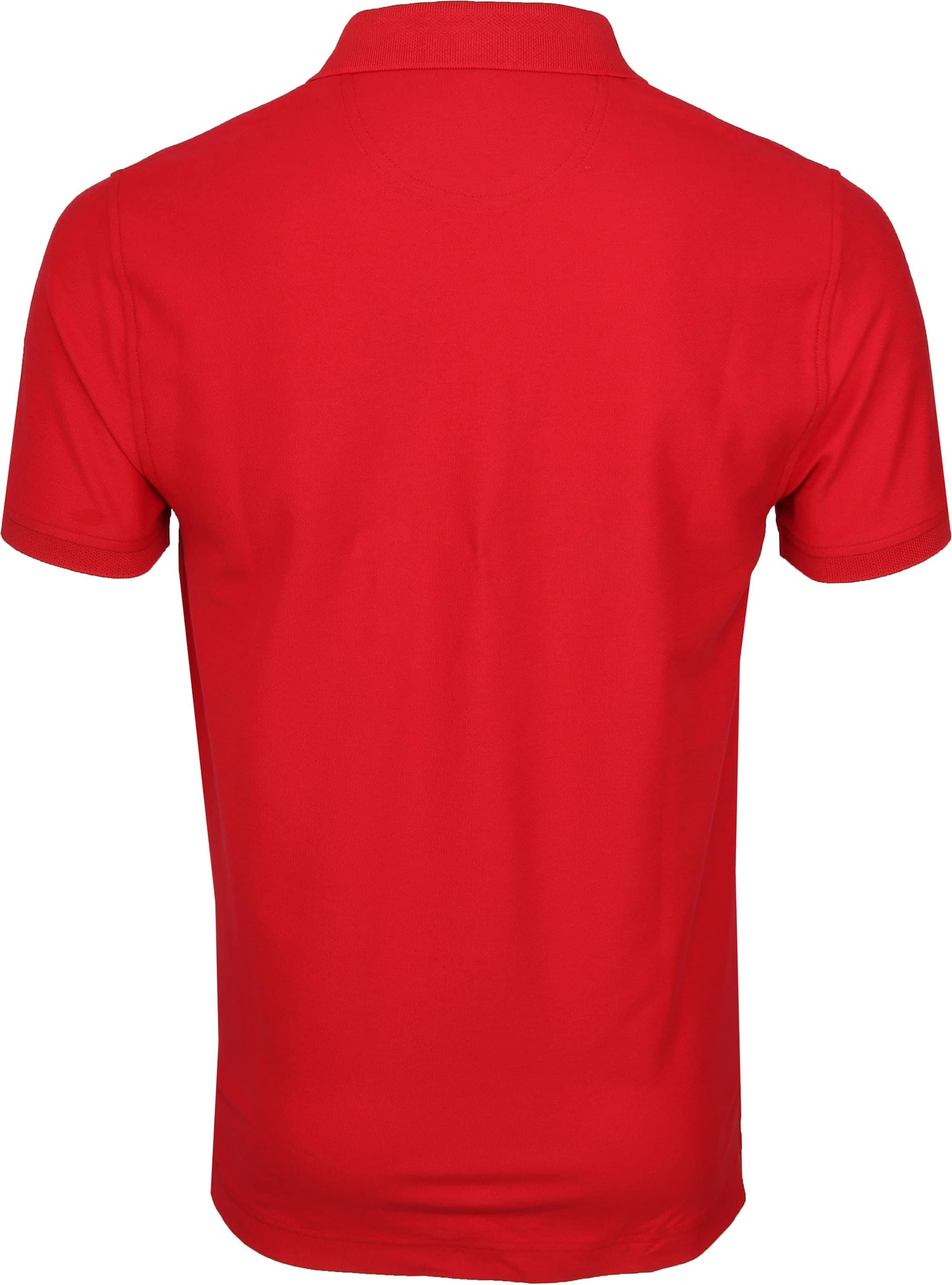 IZOD Performance Poloshirt Red foto 3