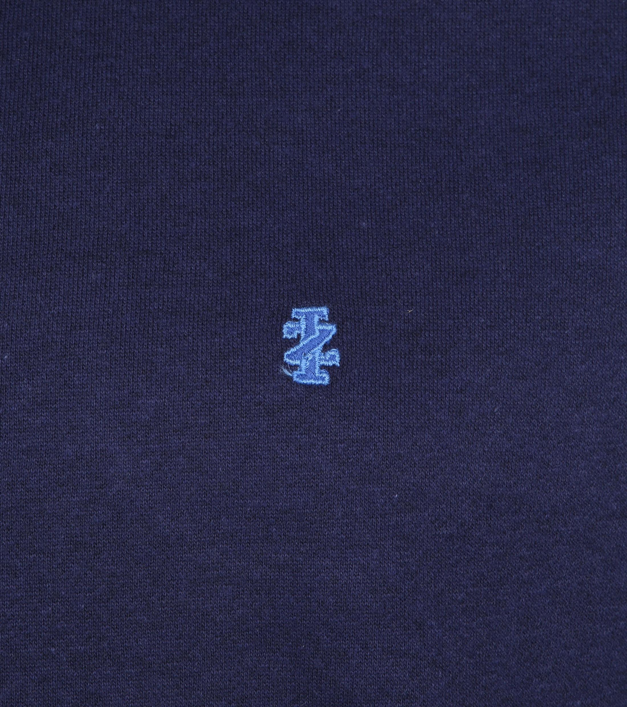 IZOD Solid Fleece Sweater Navy foto 2