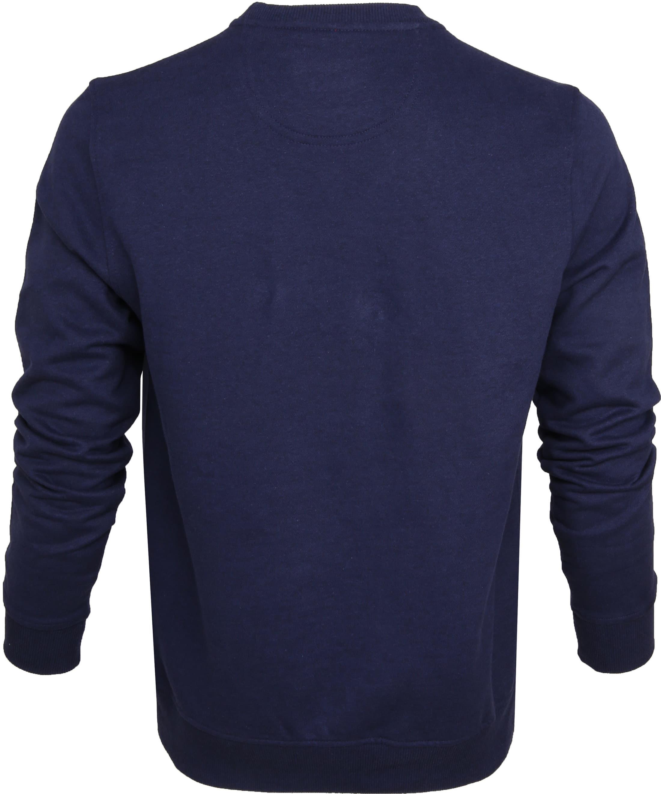 IZOD Solid Fleece Sweater Navy foto 3