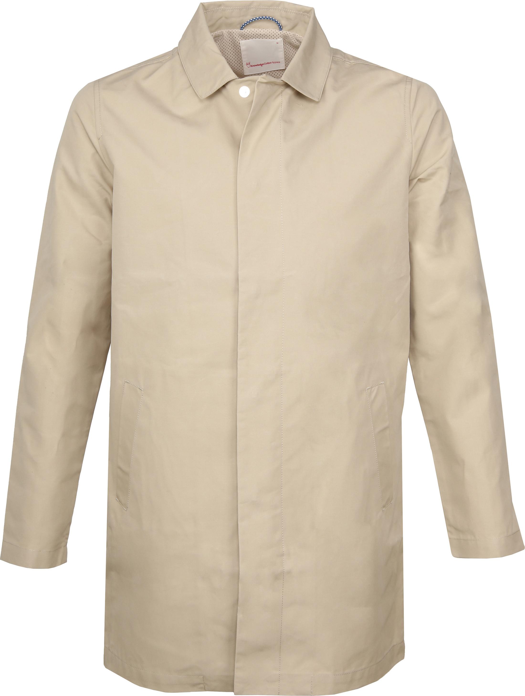 Knowledge Cotton Apparel Carcoat Beige foto 0