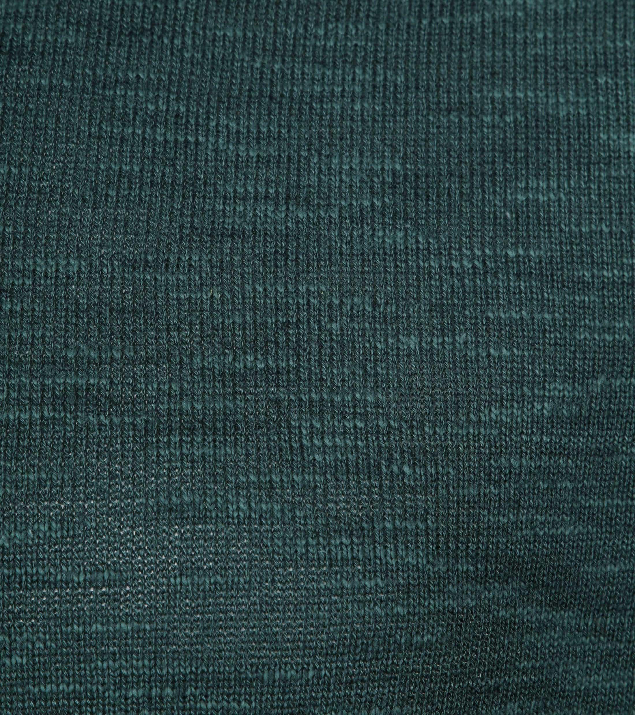Knowledge Cotton Apparel Longsleeve Polo Groen foto 1