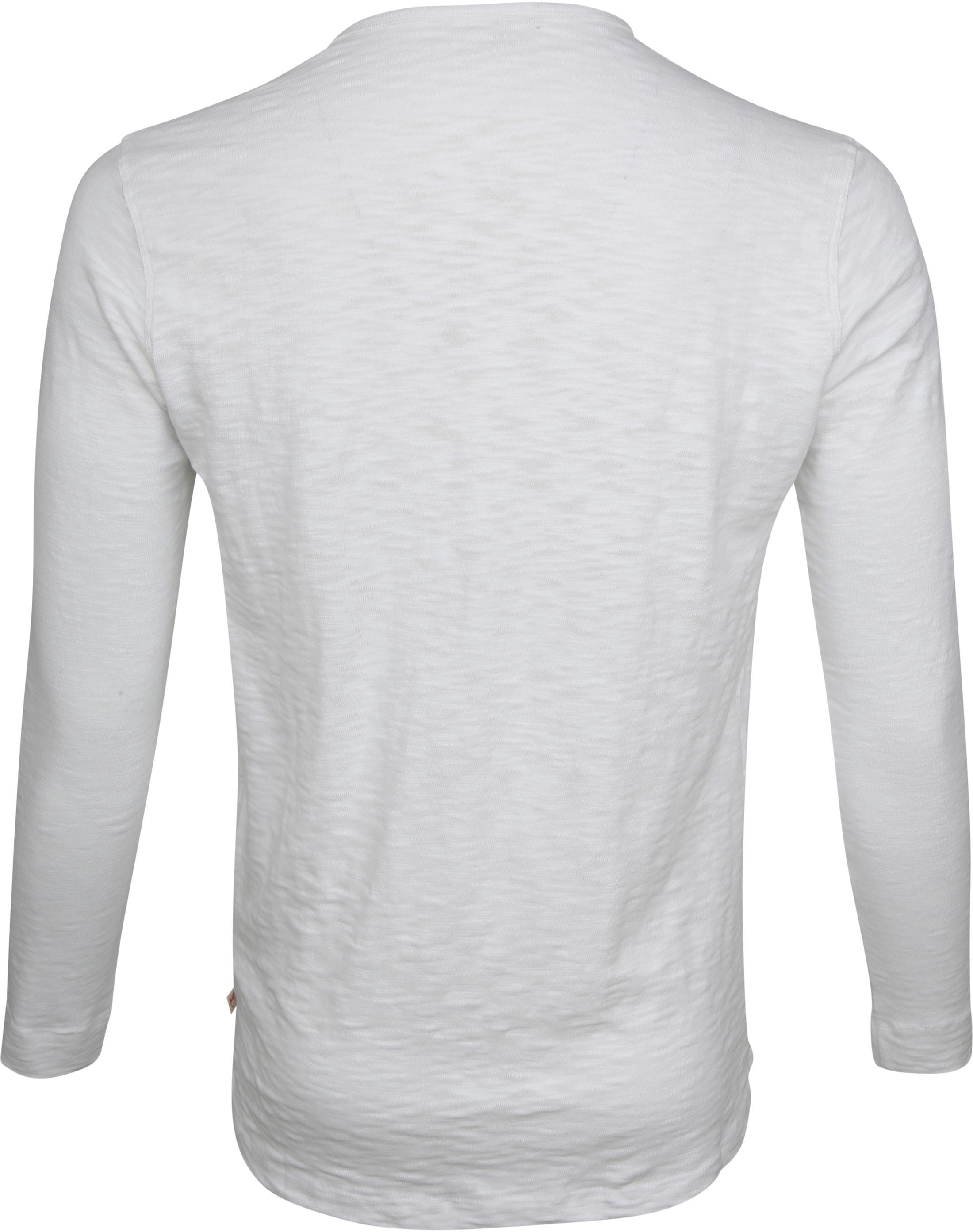 Knowledge Cotton Apparel LS T-shirt Wit foto 2