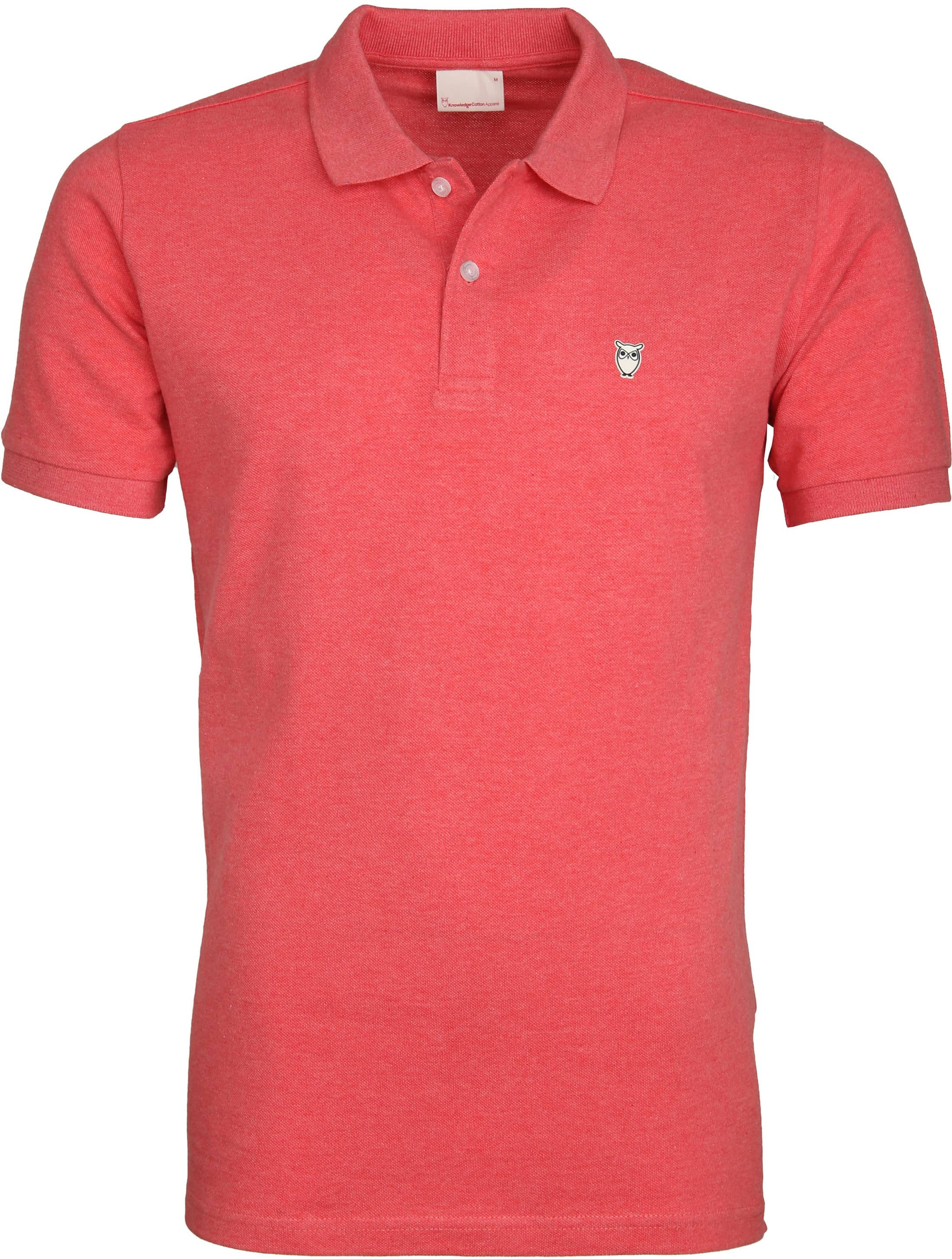 Knowledge Cotton Apparel Polo Coral foto 0