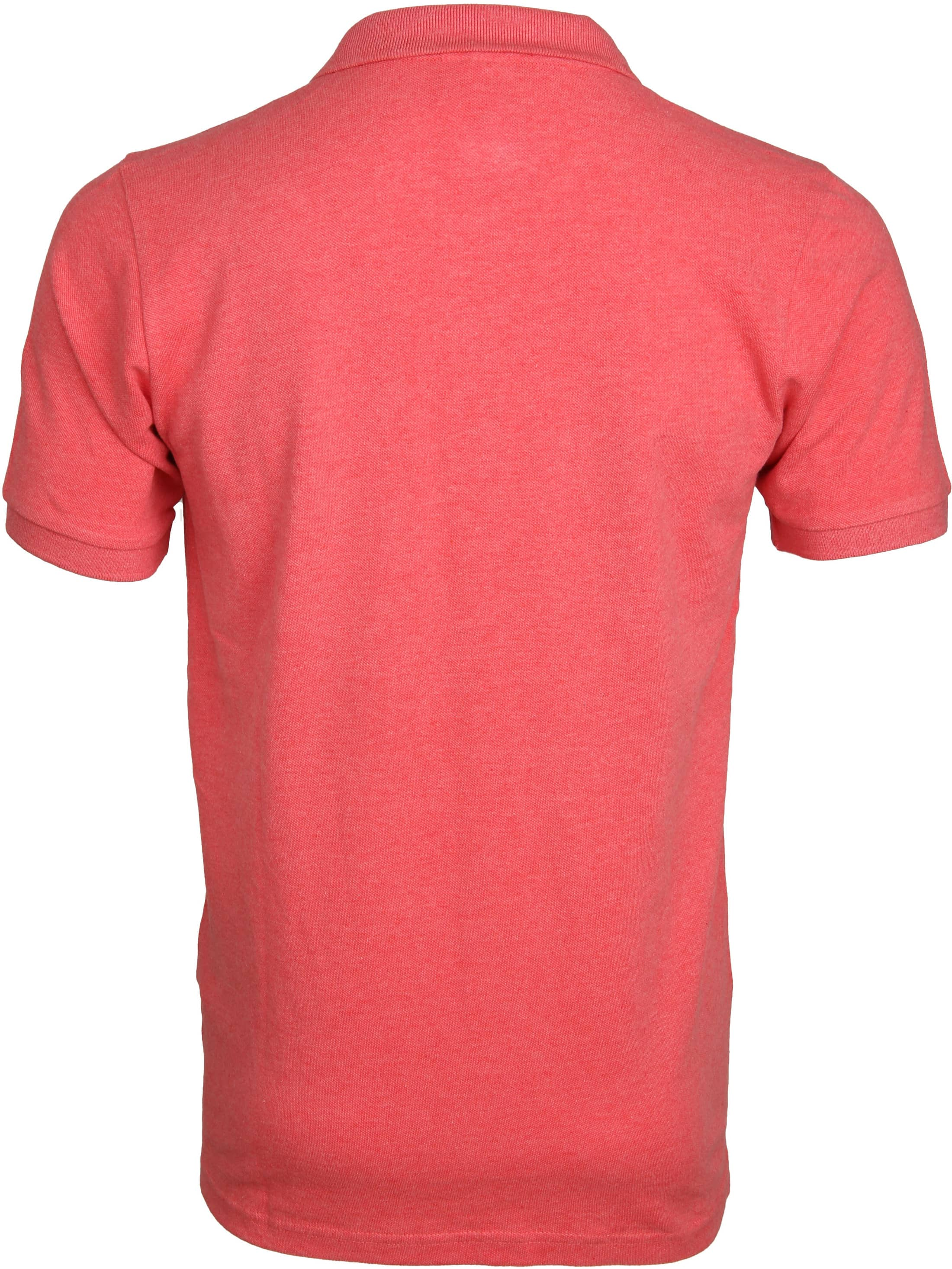 Knowledge Cotton Apparel Polo Coral foto 2
