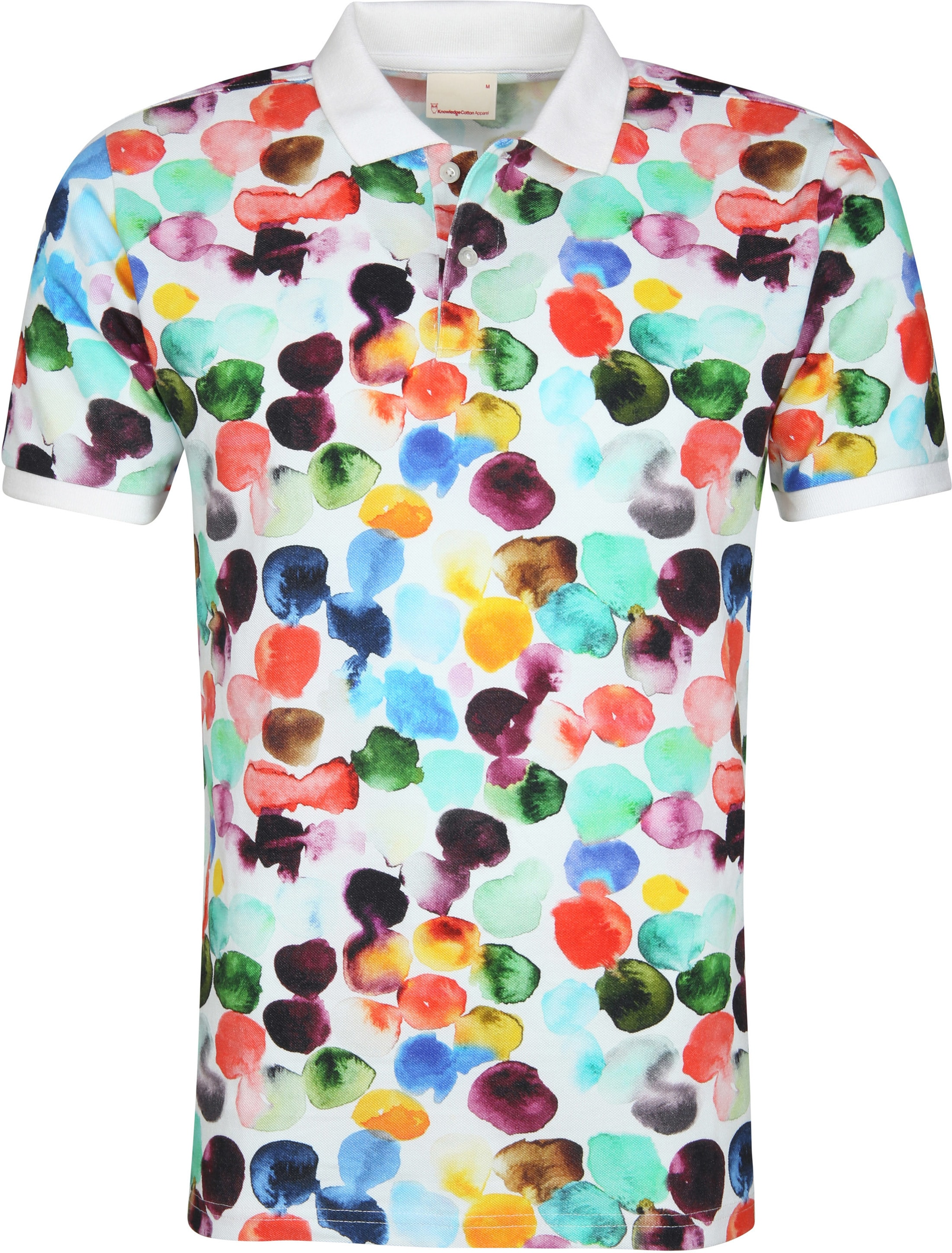 Knowledge Cotton Apparel Polo Dot Print foto 0