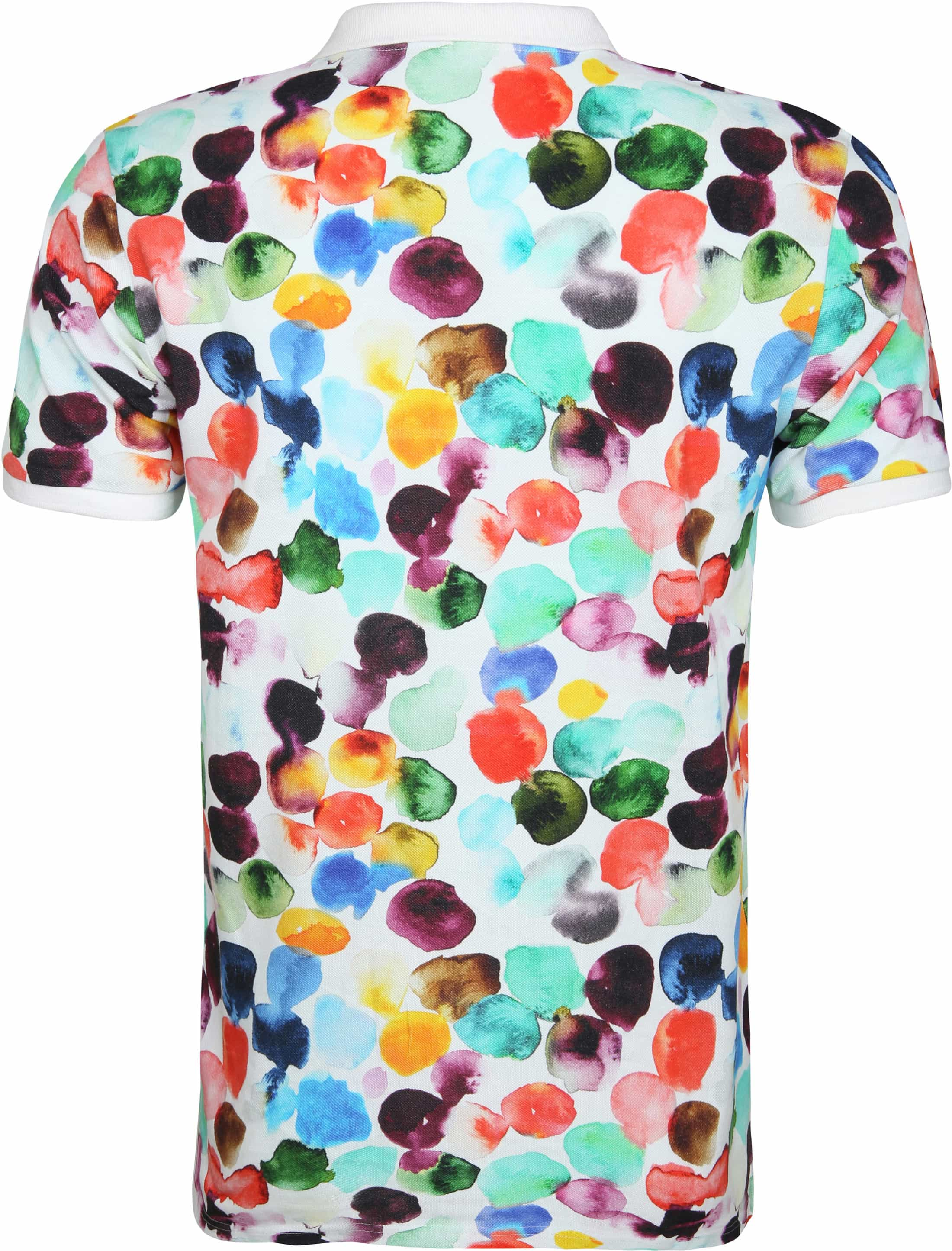 Knowledge Cotton Apparel Polo Dot Print foto 2