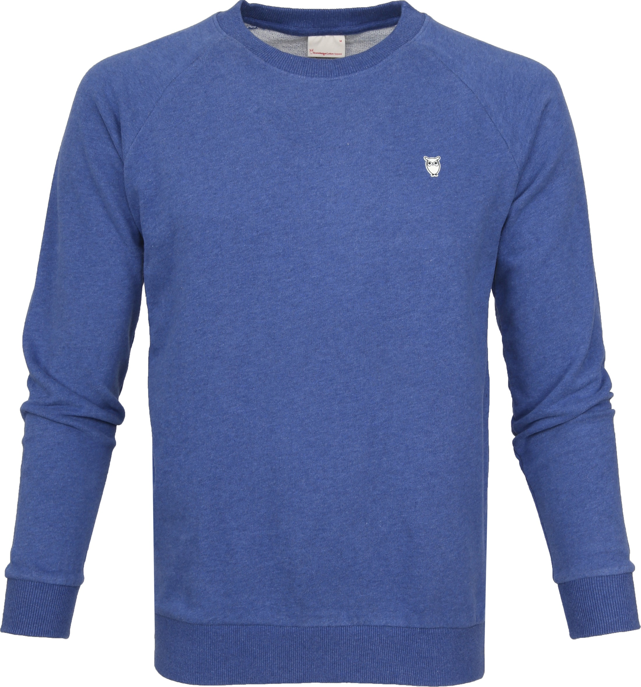 Knowledge Cotton Apparel Pullover Blau 30395 1231 Blue