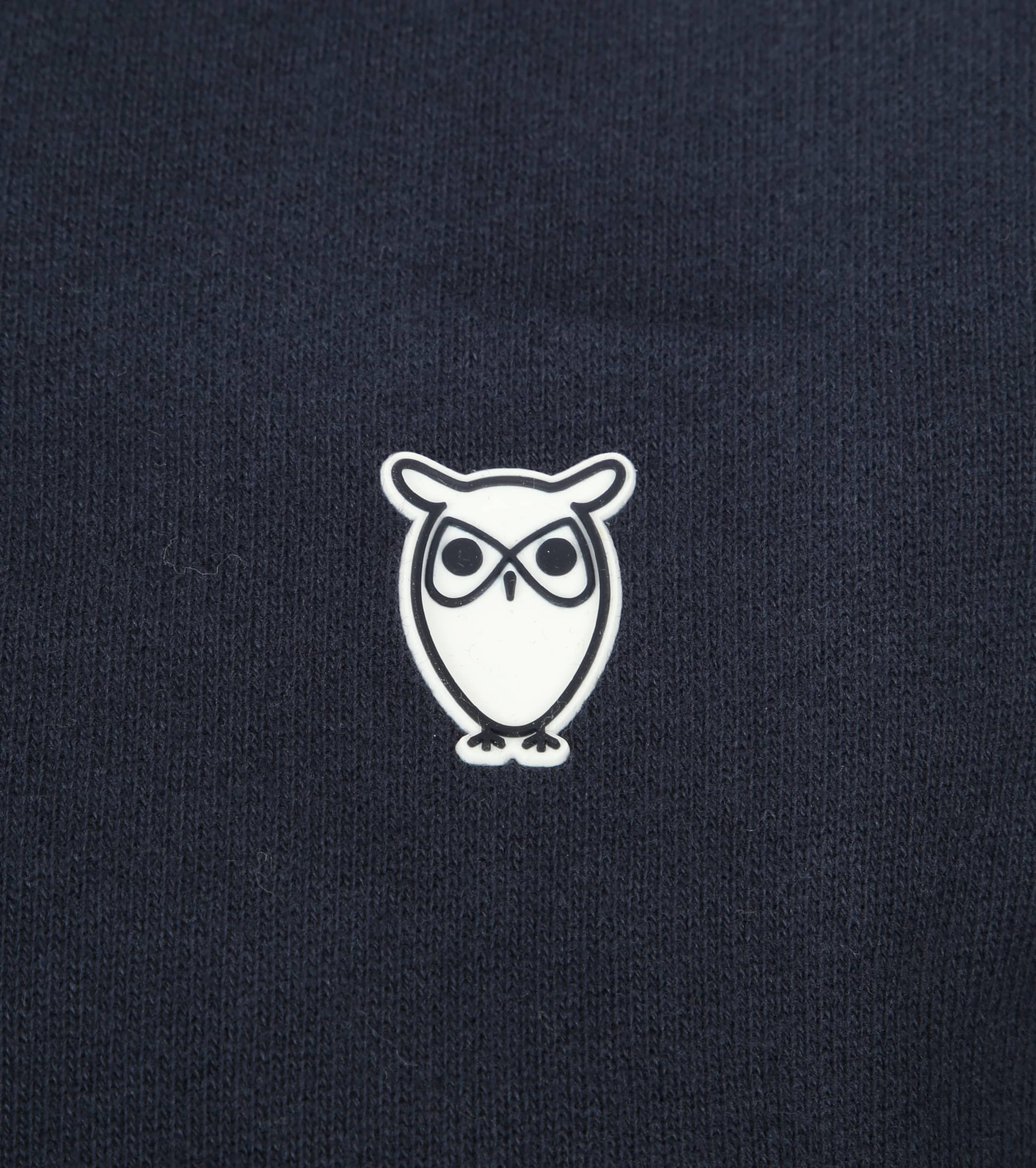 Knowledge Cotton Apparel Sweatjacke Dunkelblau foto 2