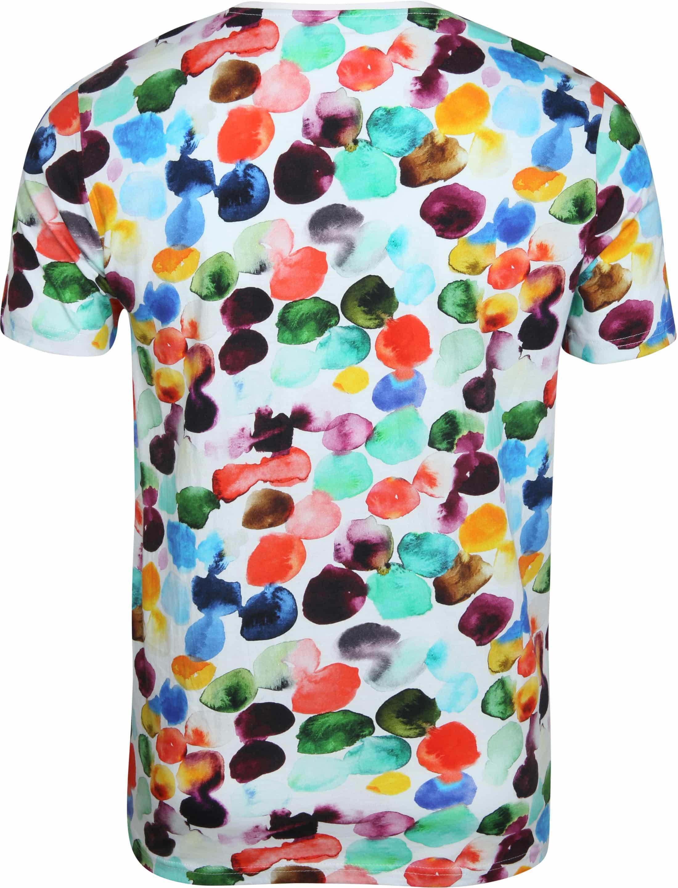 Knowledge Cotton Apparel T-shirt Multi Dot foto 2