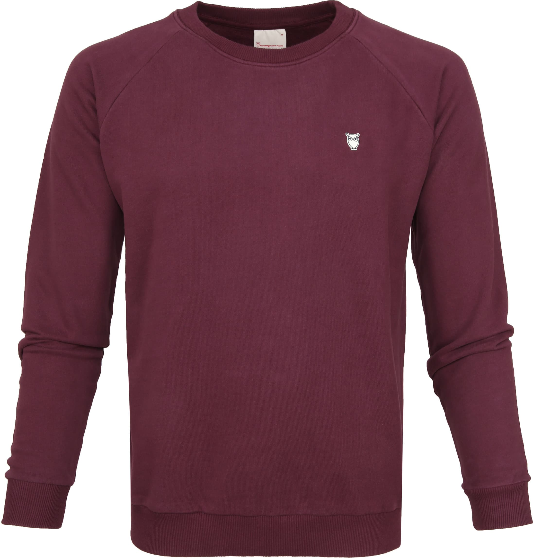 Knowledge Cotton Apparel Trui Bordeaux foto 0