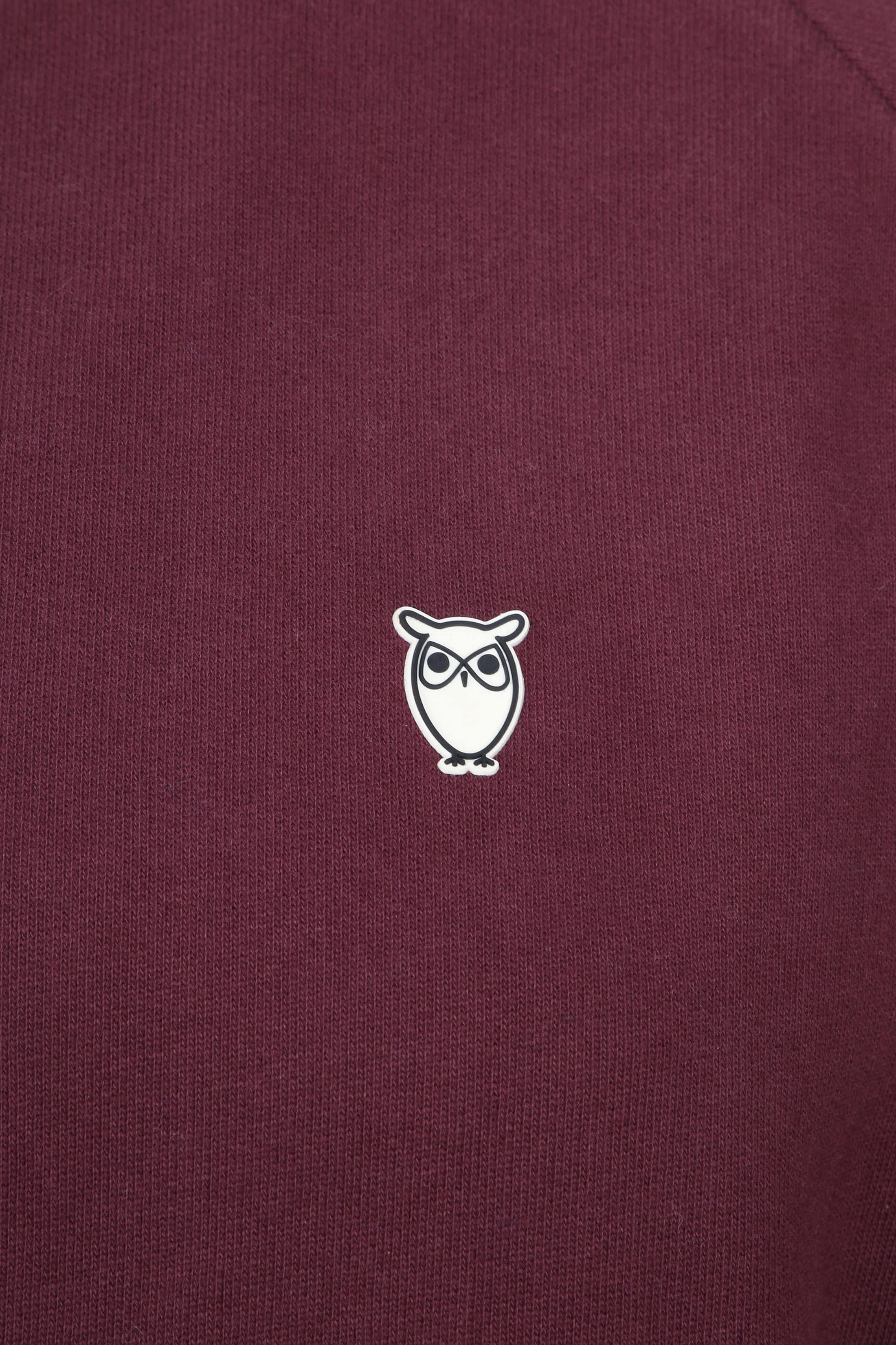 Knowledge Cotton Apparel Trui Bordeaux foto 1