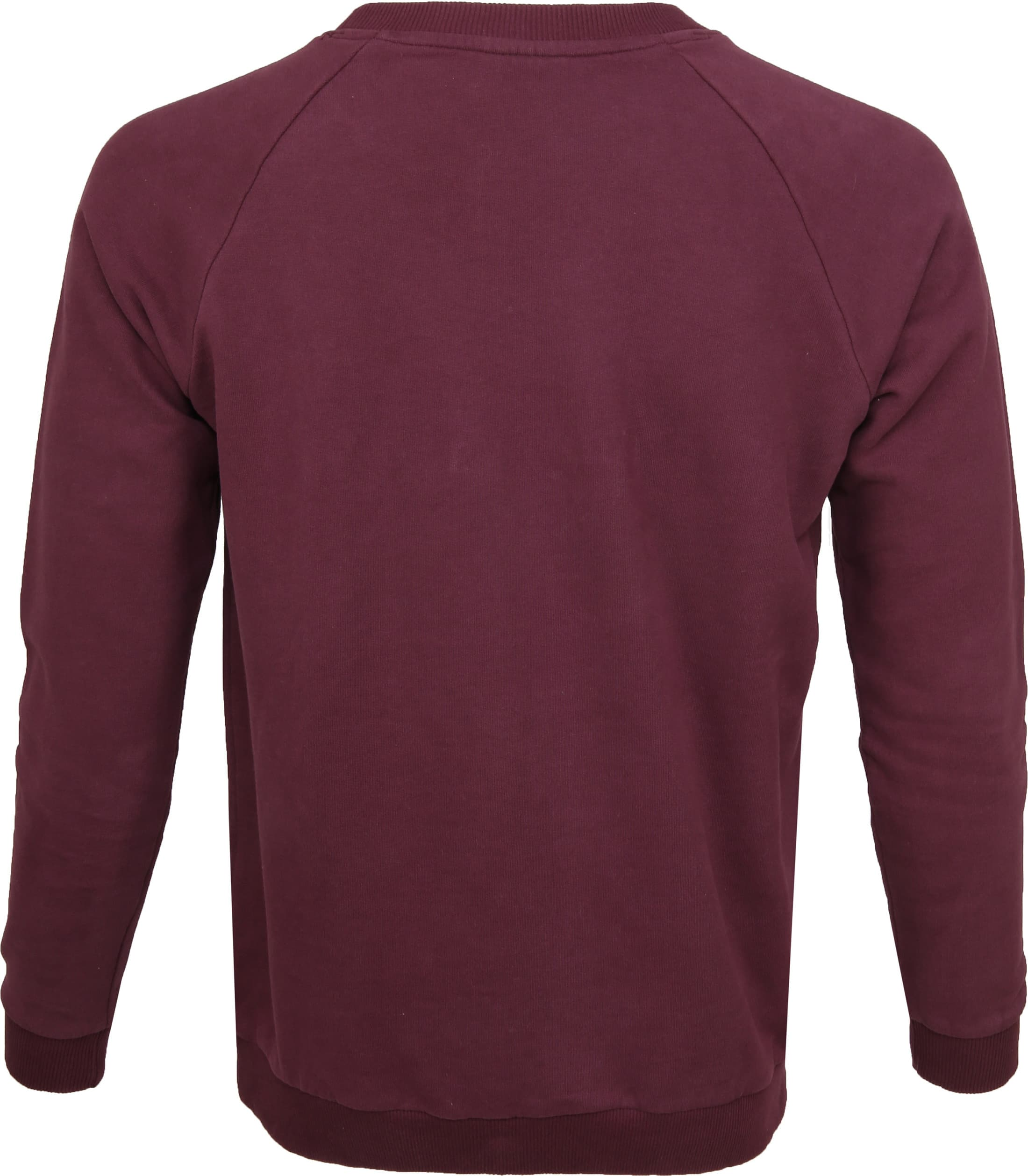 Knowledge Cotton Apparel Trui Bordeaux foto 2