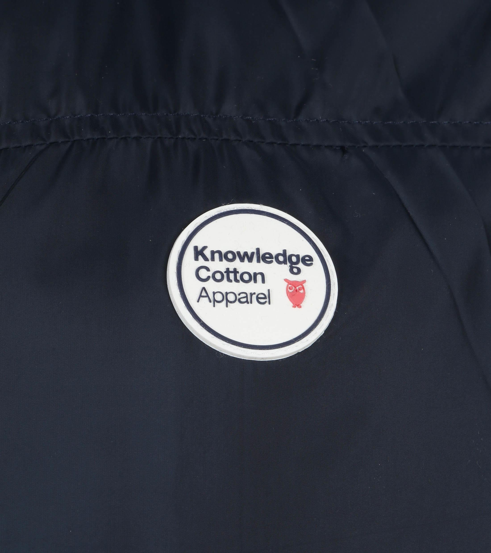 KnowledgeCotton Apparel Fjord Jas Donkerblauw