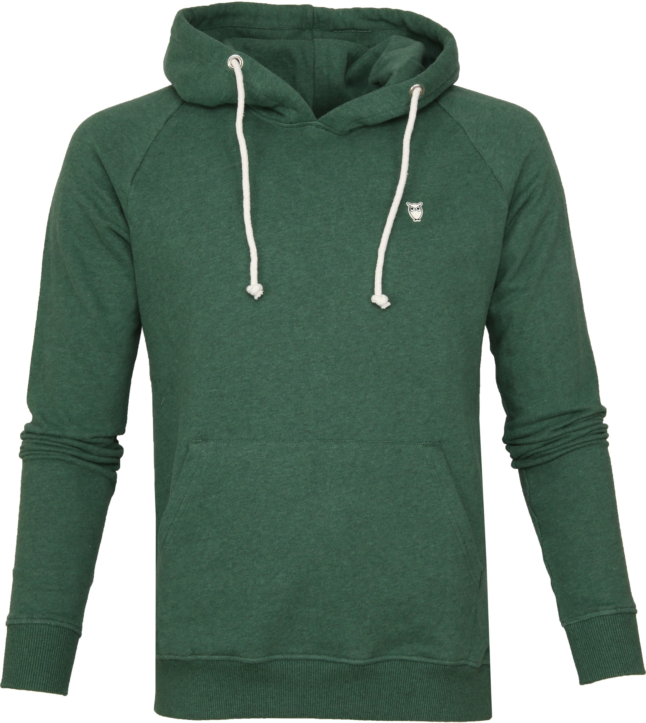 KnowledgeCotton Apparel Hoodie Green foto 0