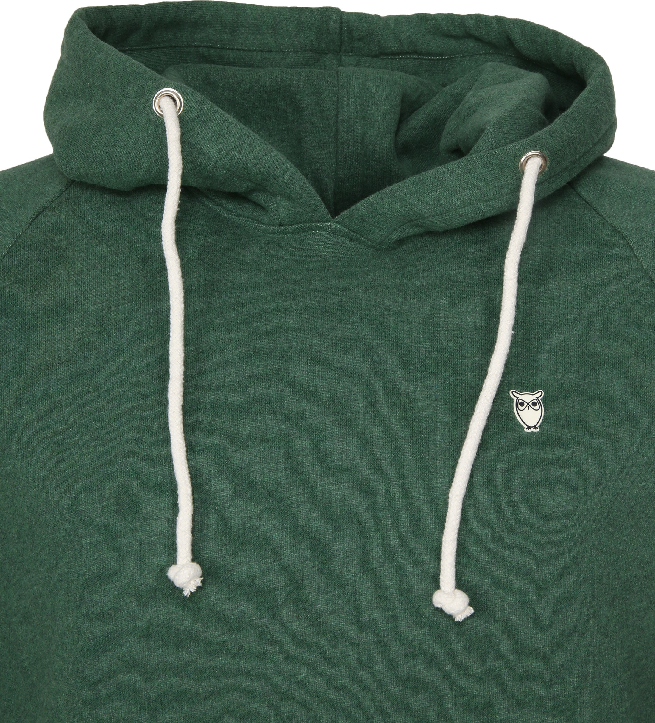 KnowledgeCotton Apparel Hoodie Green foto 1