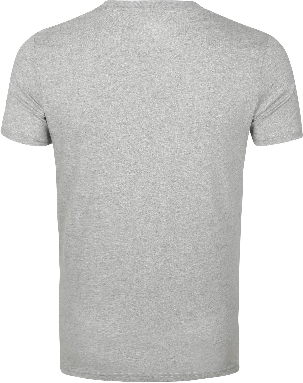 KnowledgeCotton Apparel Logo T-shirt Alder Grijs
