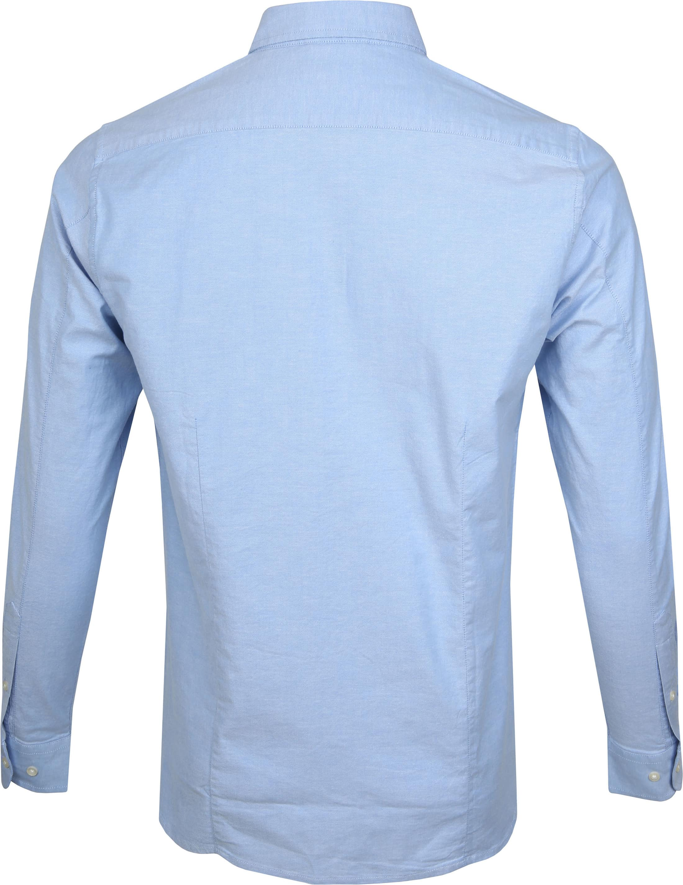 KnowledgeCotton Apparel Overhemd Blauw