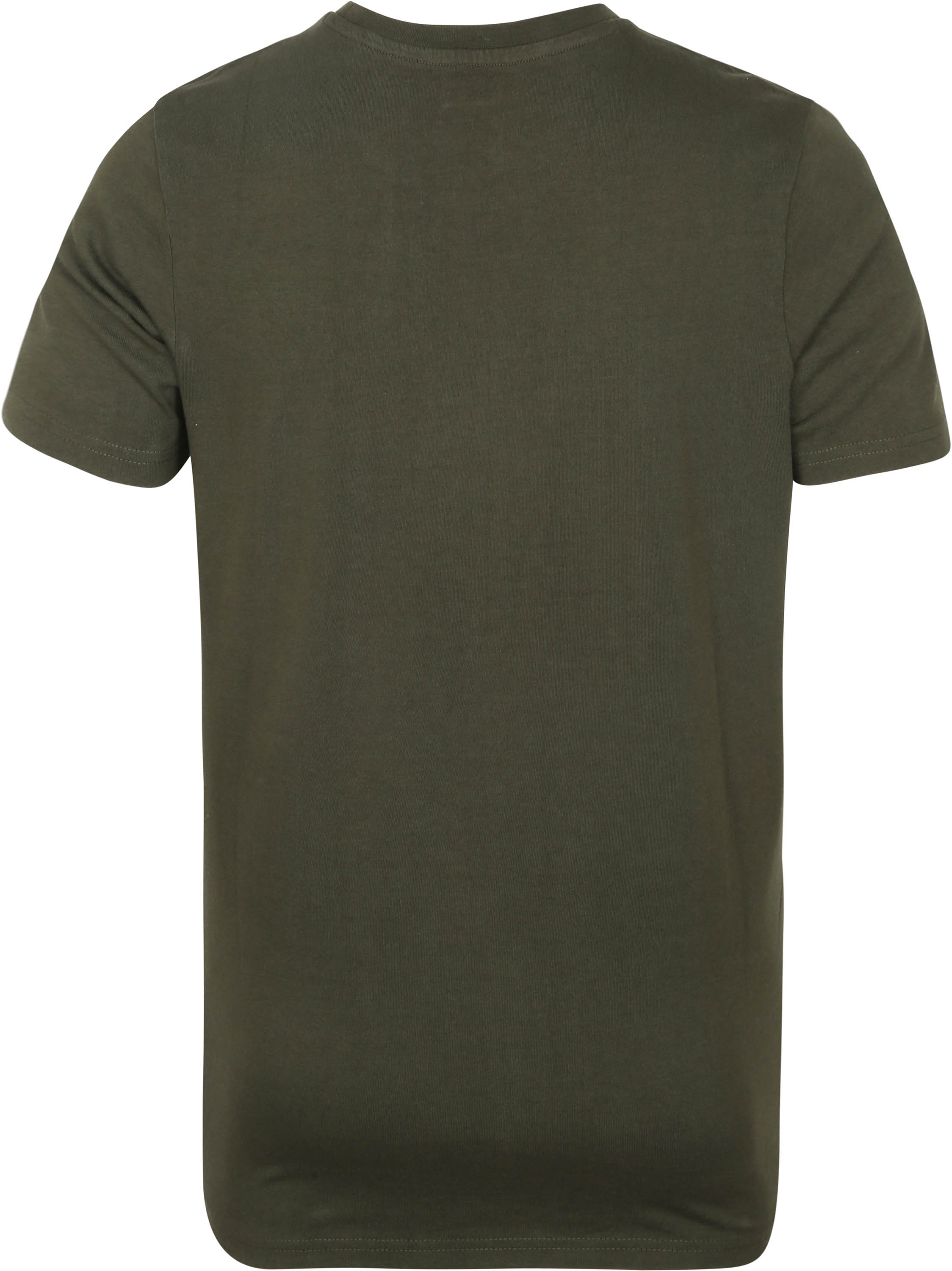 KnowledgeCotton Apparel T-shirt Alder Forrest Groen
