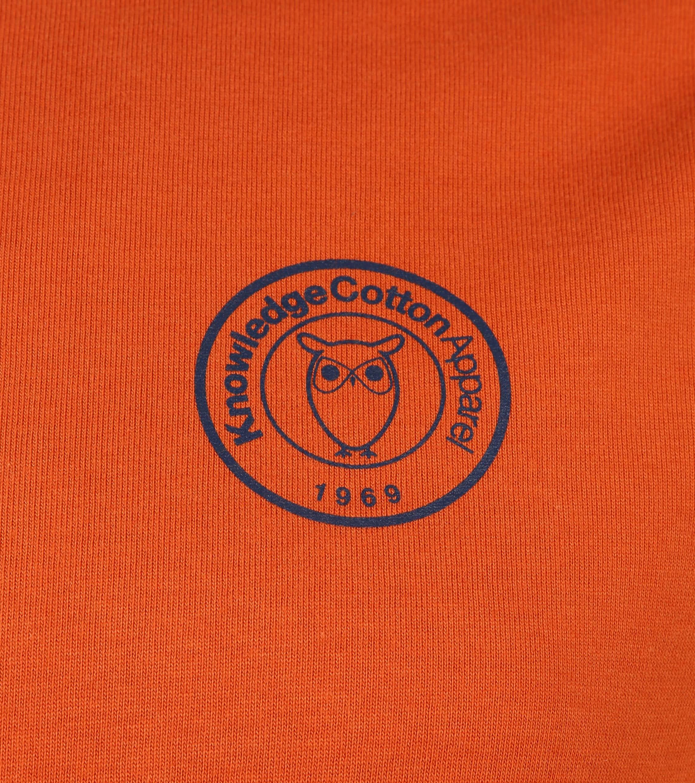 KnowledgeCotton Apparel T-shirt Alder Roest