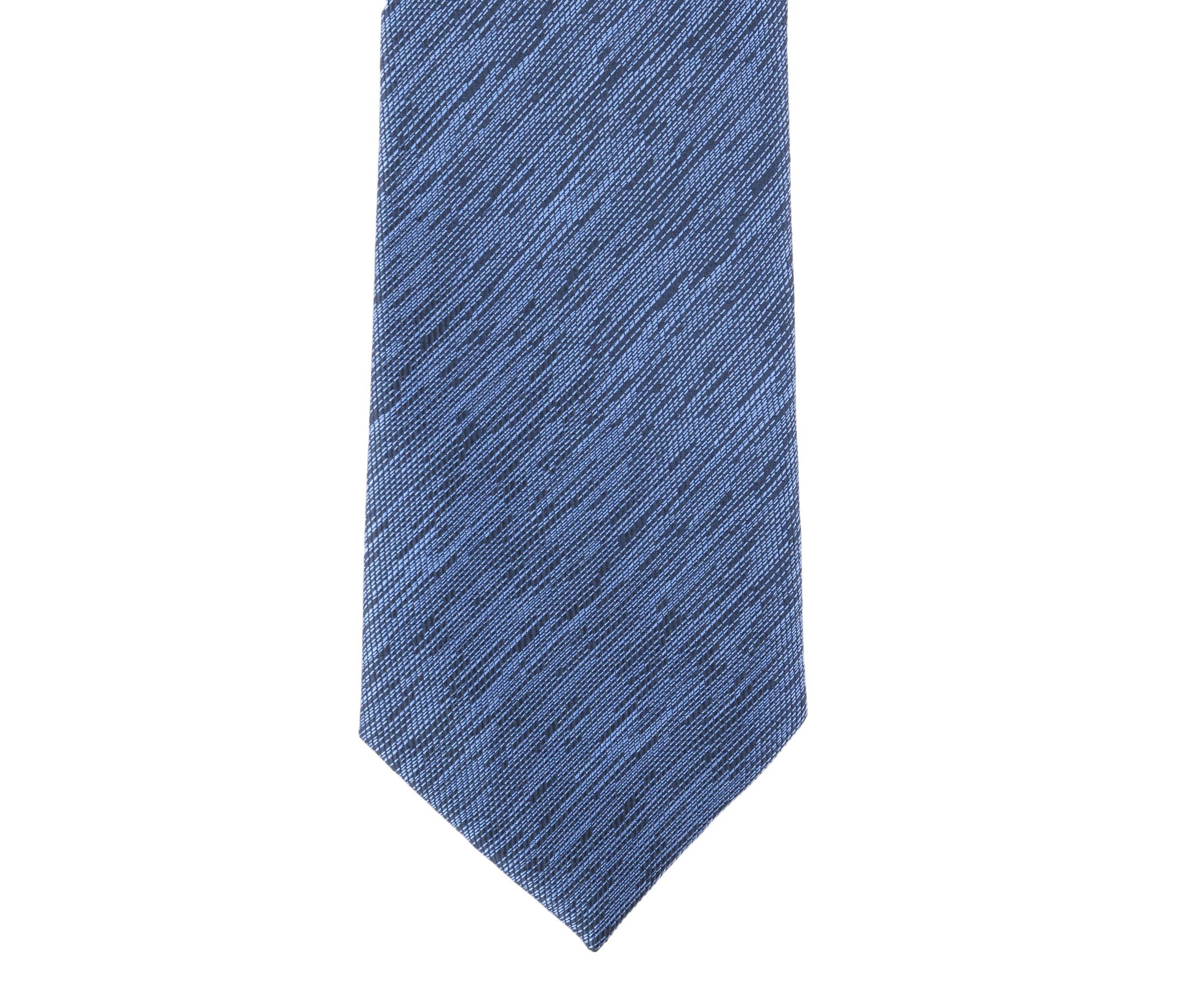 Krawatte Seide Blue 9-17 foto 1
