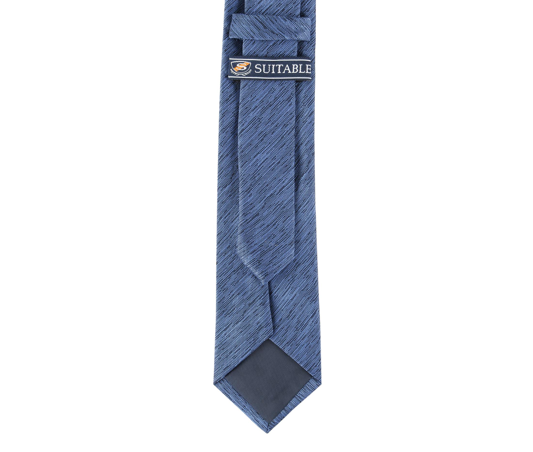 Krawatte Seide Blue 9-17 foto 3