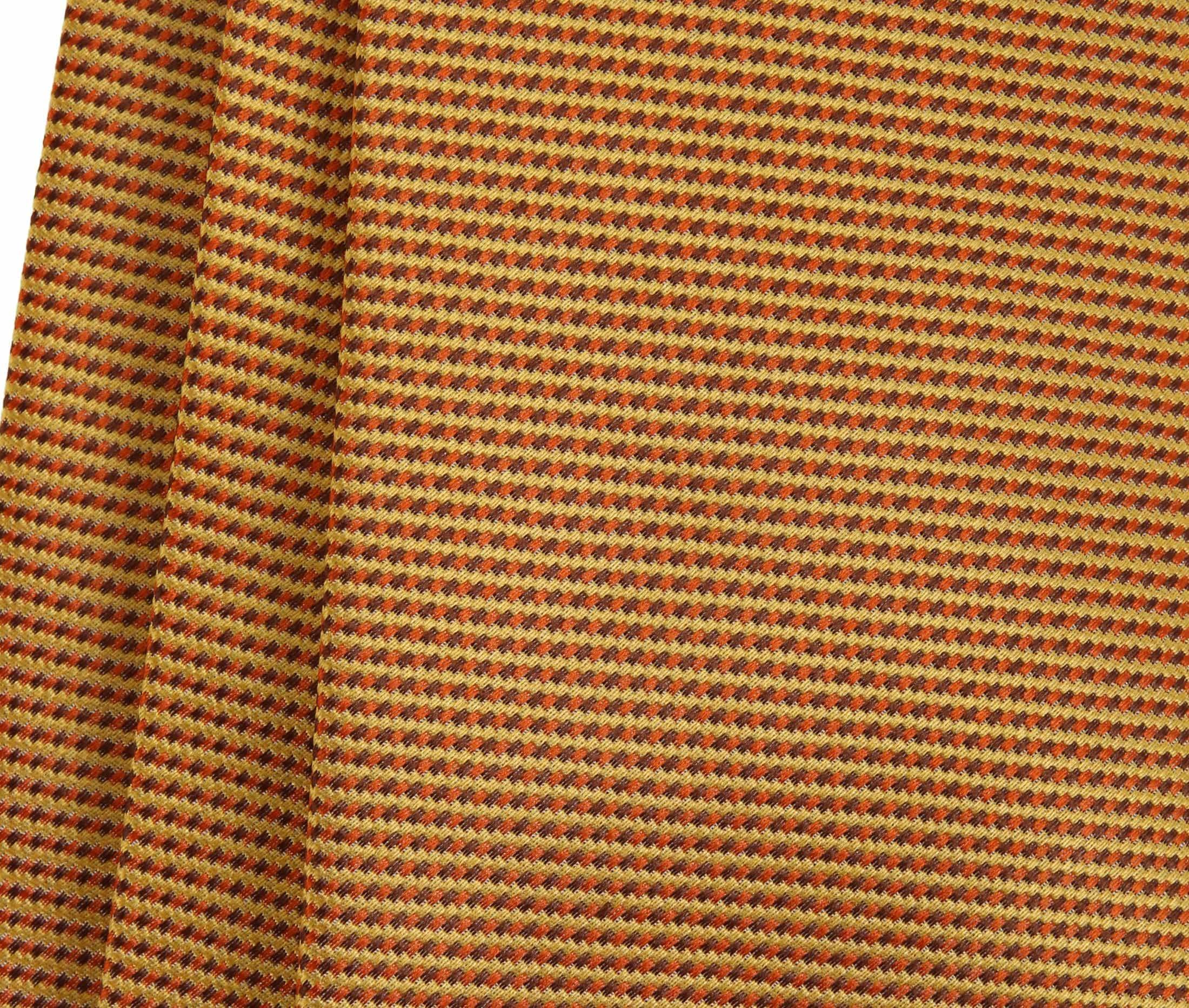 Krawatte Seide Gold Motiv foto 1