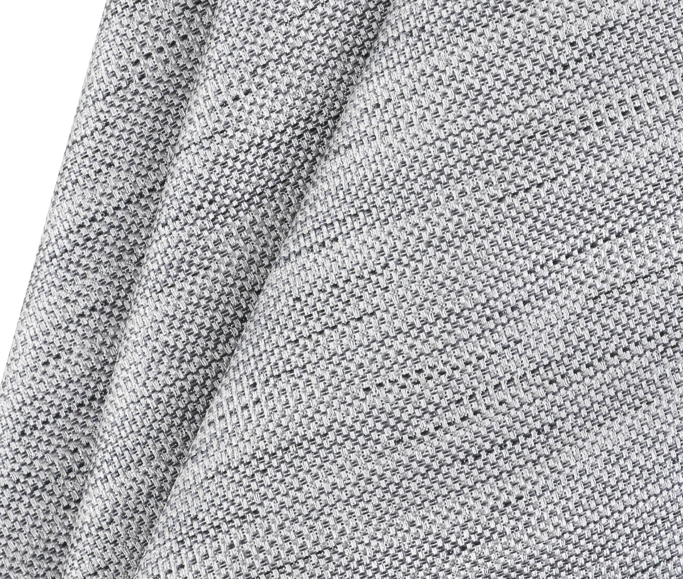 Krawatte Seide Grau 9-17 foto 2