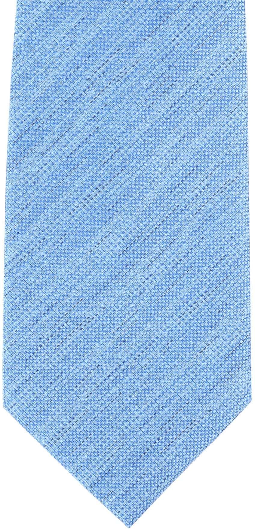 Krawatte Seide Hellblau 9-17 foto 1
