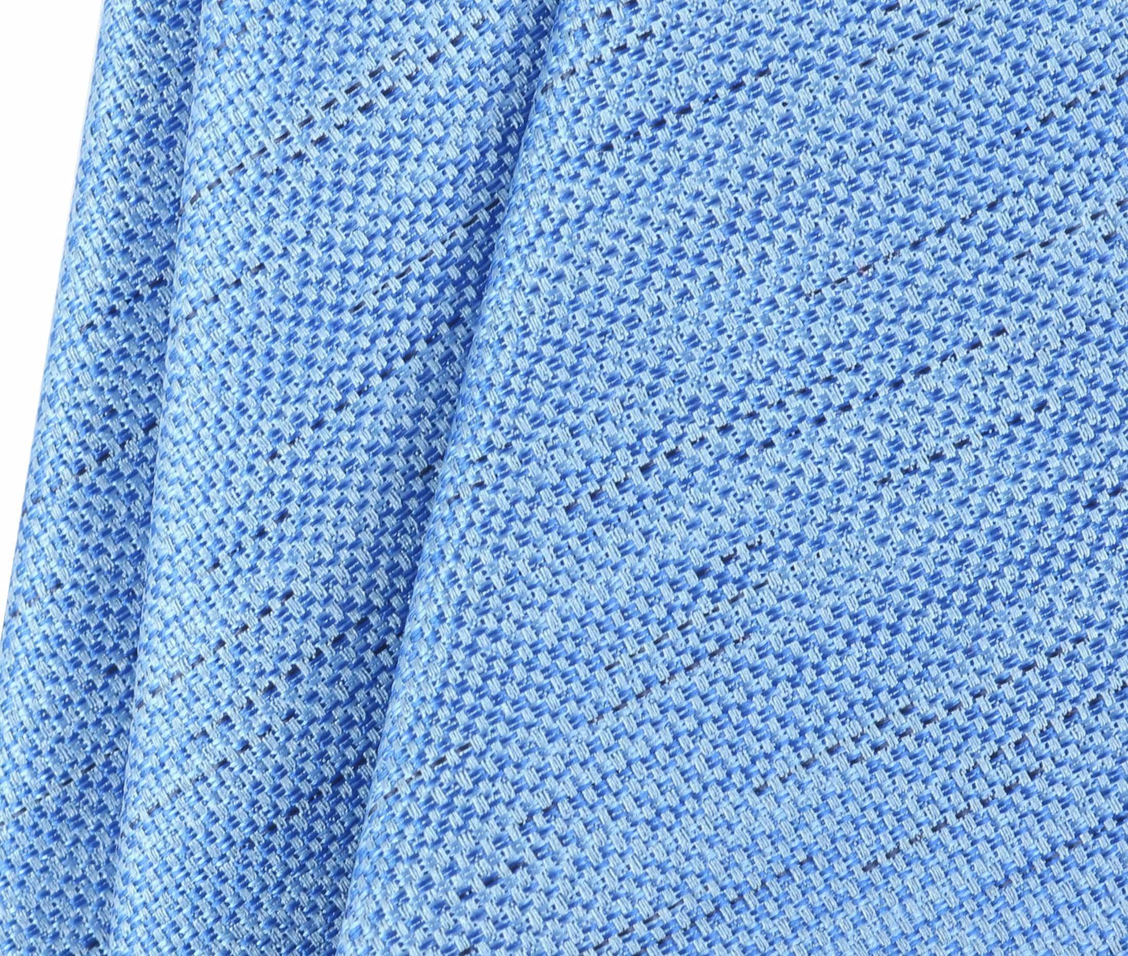 Krawatte Seide Hellblau 9-17 foto 2