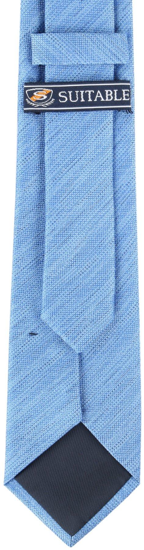 Krawatte Seide Hellblau 9-17 foto 3