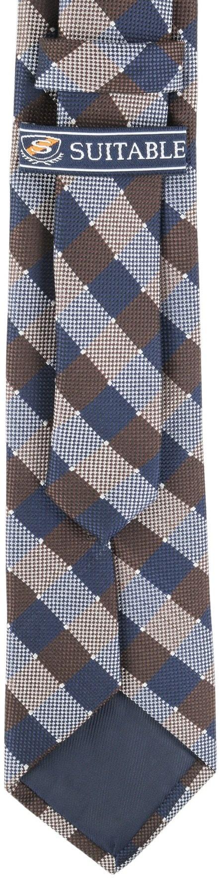 Krawatte Seide Karo 9-17 foto 3