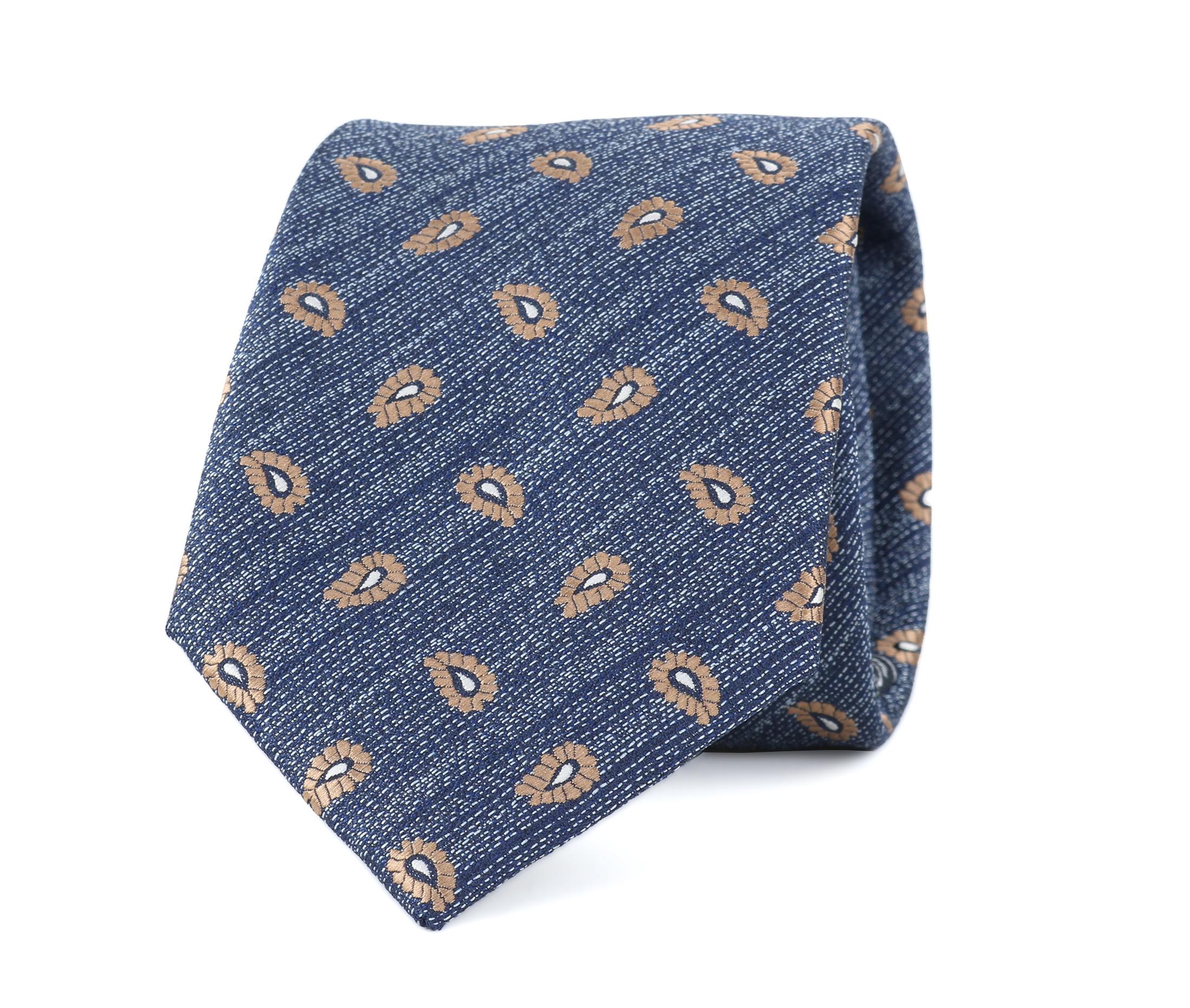 Krawatte Seide Paisley 9-17 foto 0